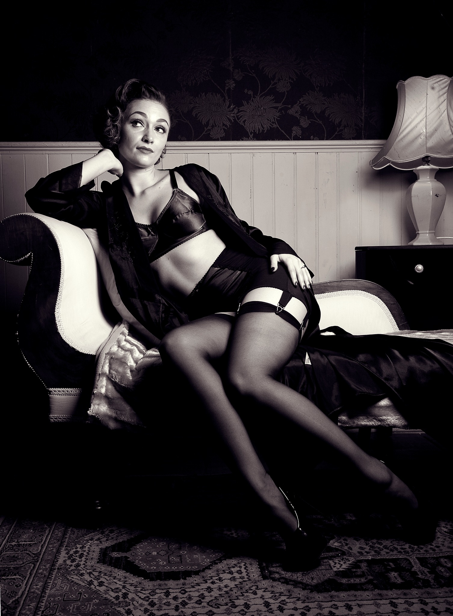 Vintage lingerie by NickJamesPhotography
