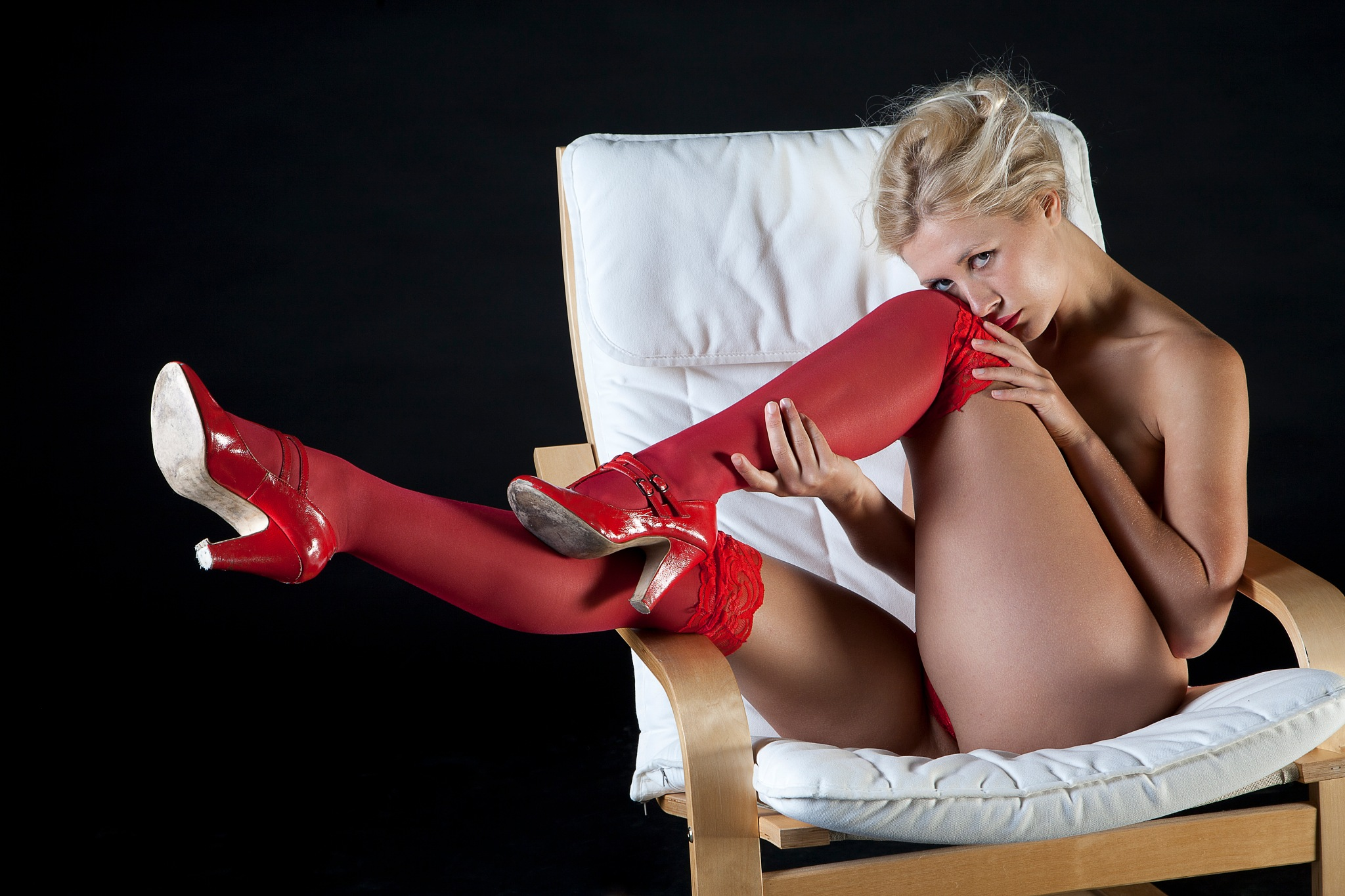Do you like me in red? by NickJamesPhotography