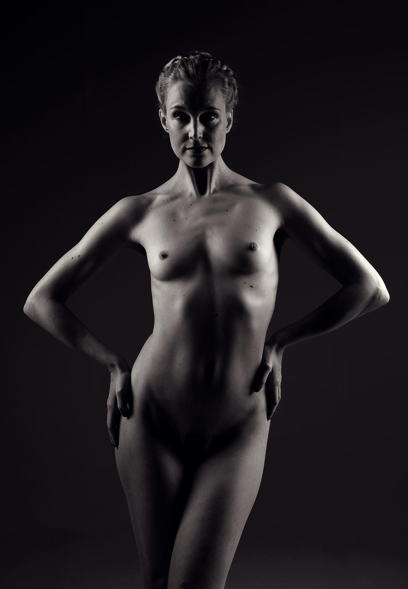 Standing Nude by NickJamesPhotography