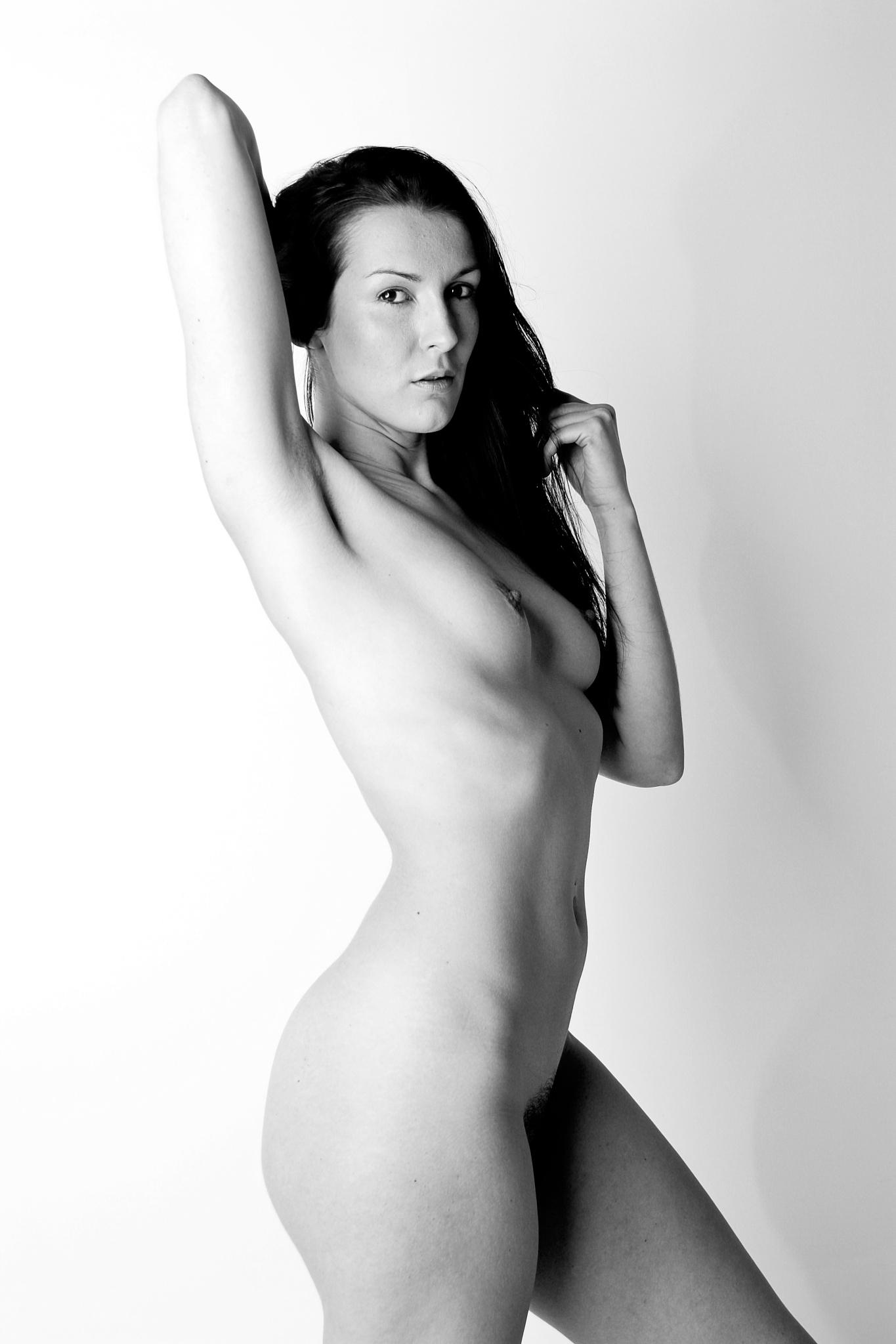 Hi Key Nude by NickJamesPhotography