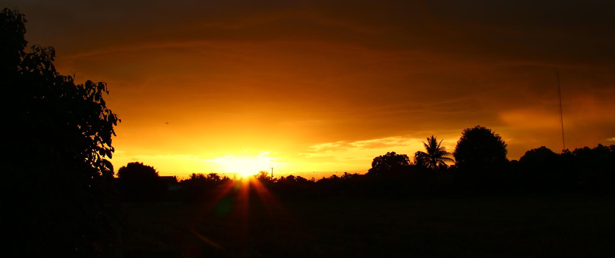 Sunset by Michael Mettier