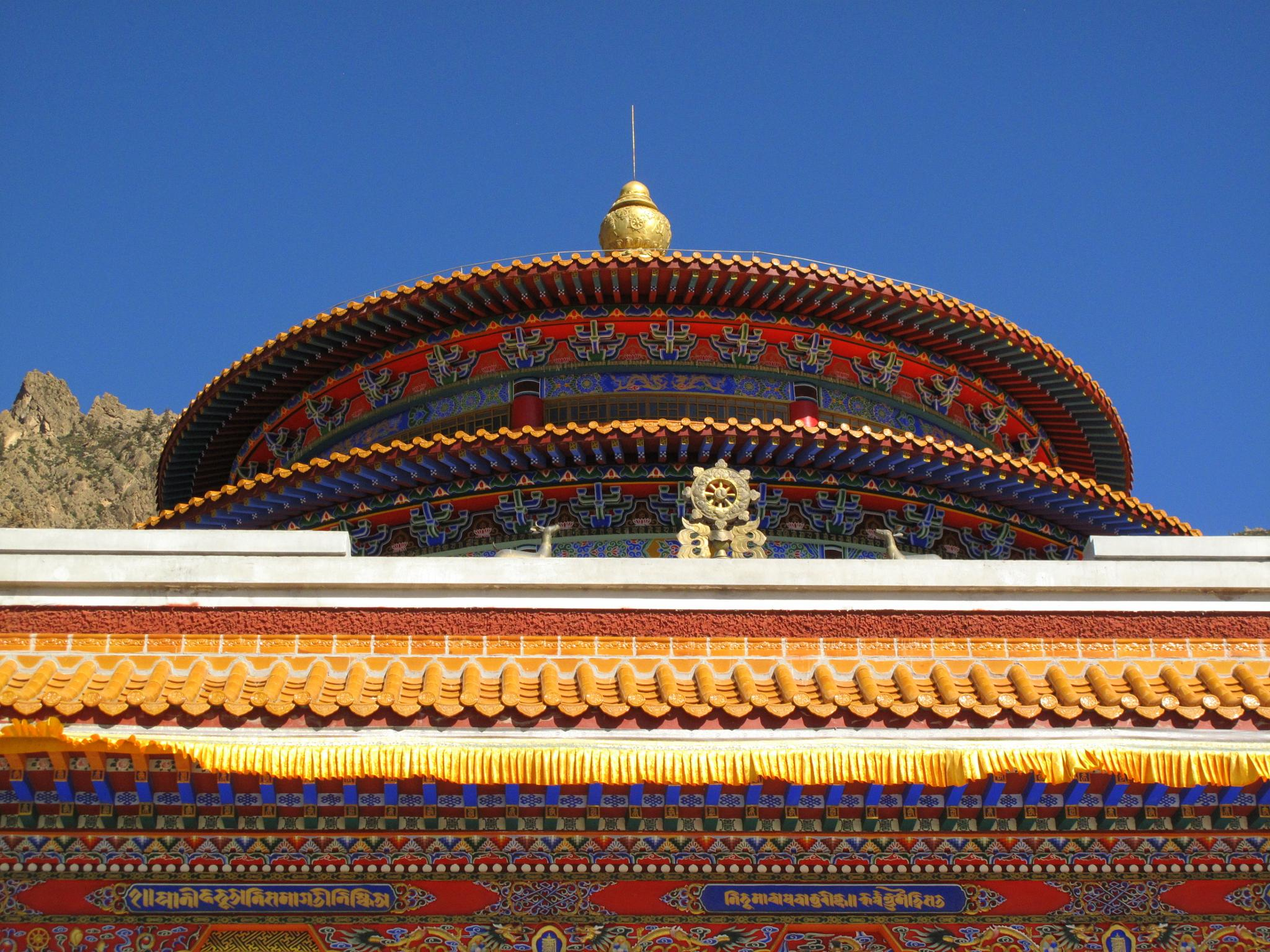 Buddhist temple by TatyanaNagel
