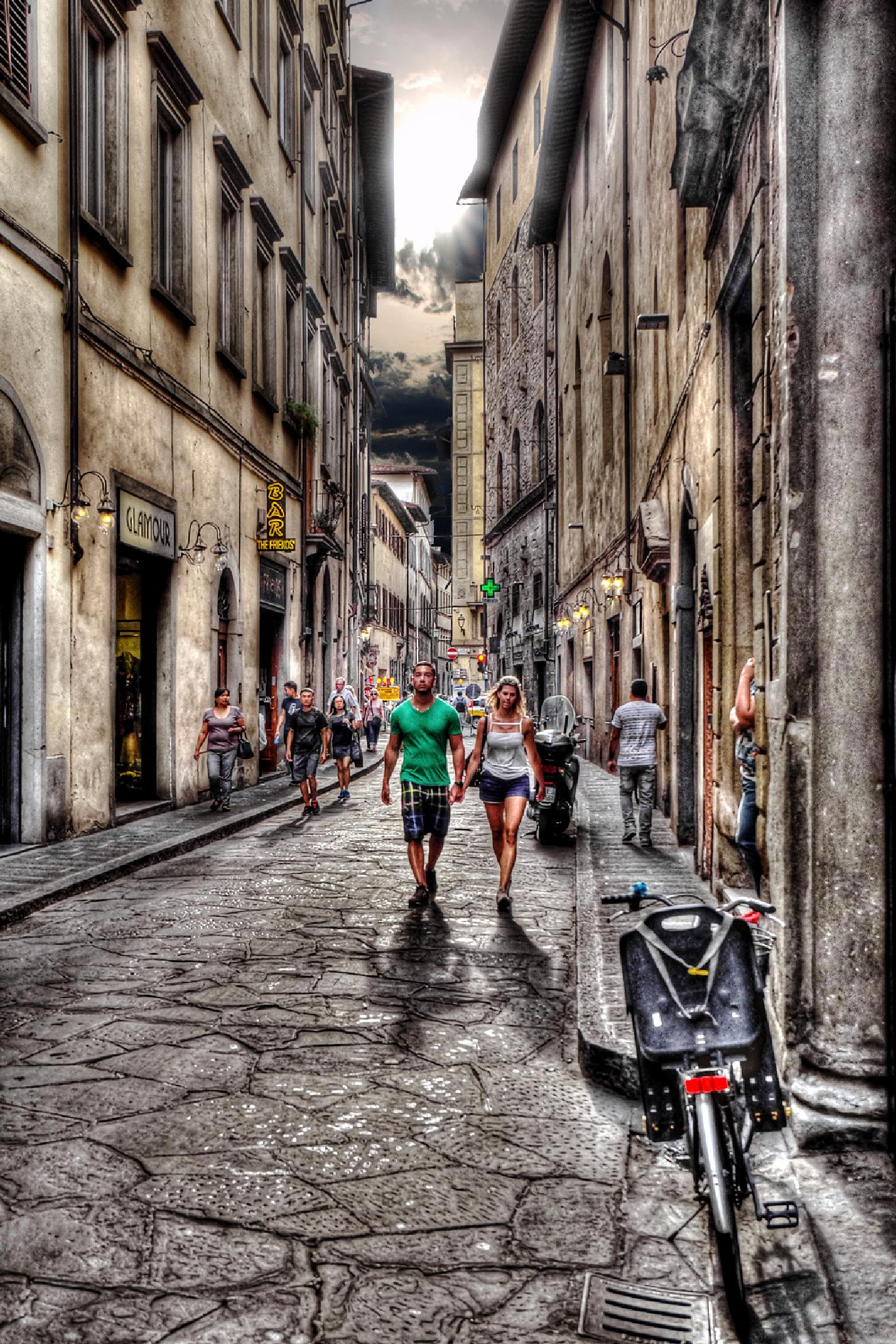 Streets of Florence by kalibrahim