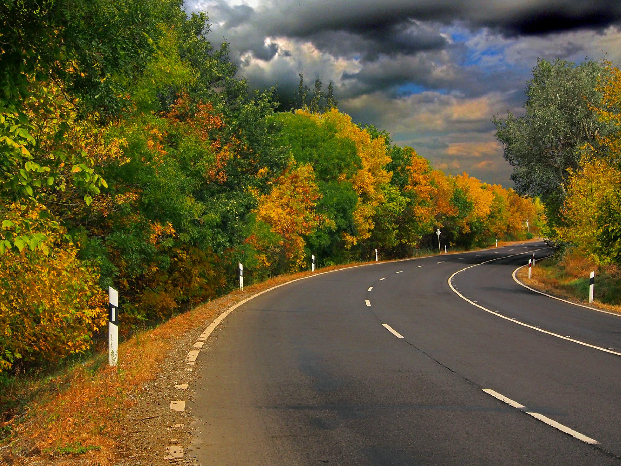 Not a Maine Highway by kalibrahim