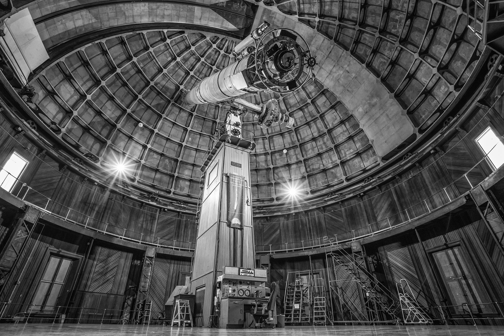 Lick Observatory - Hamilton Mountain, CA by gappman