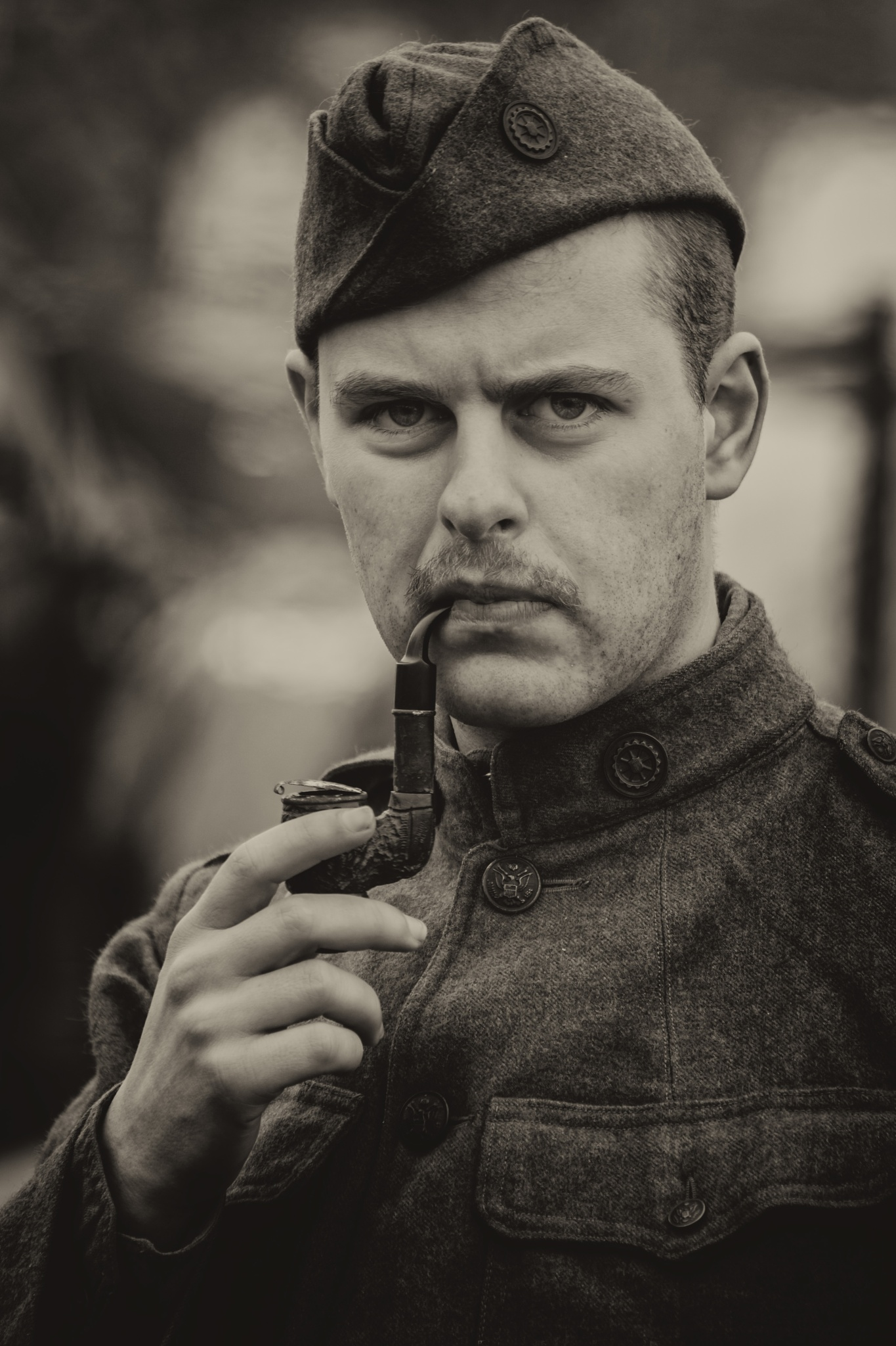 im no soldier without my pipe by marc.driesen