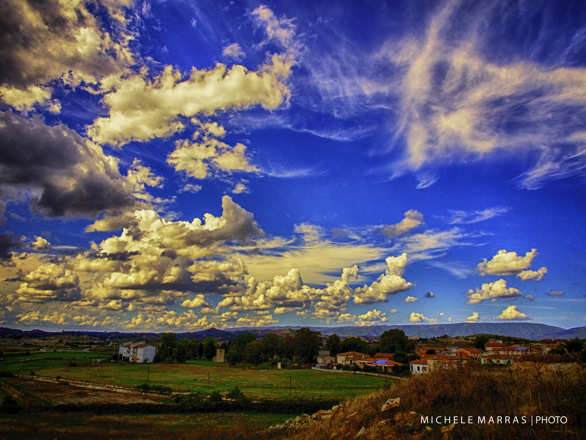 Hearth and sky by Michele Pinna Marras