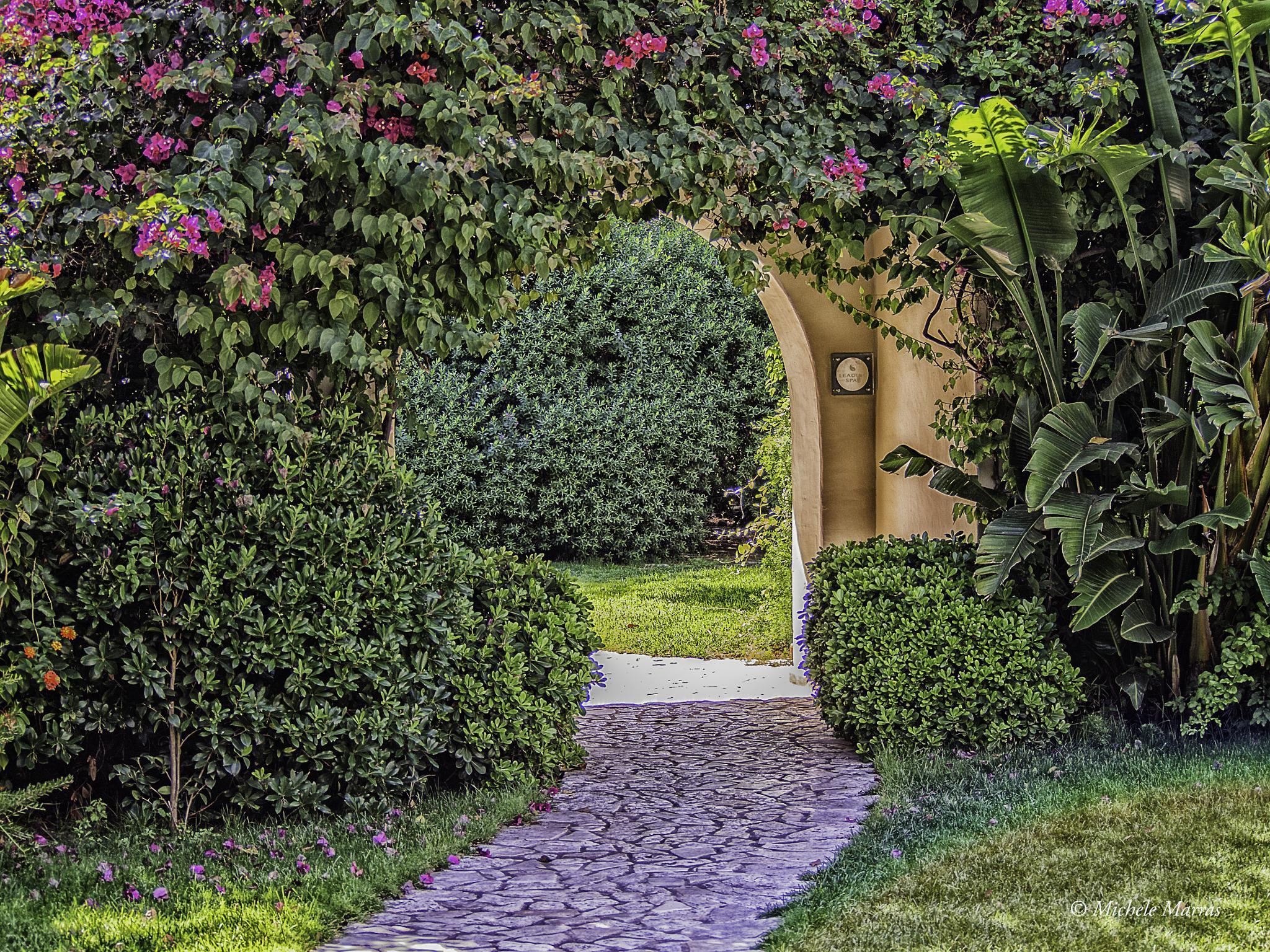 Arco fiorito by Michele Pinna Marras