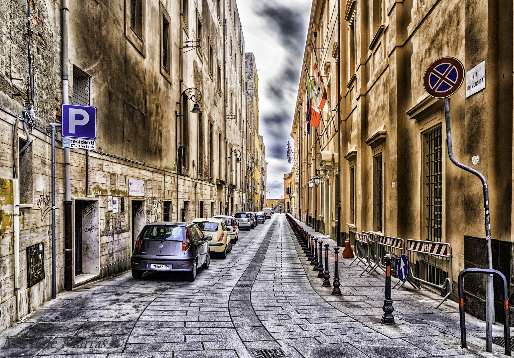 La via dell'Università by Michele Pinna Marras