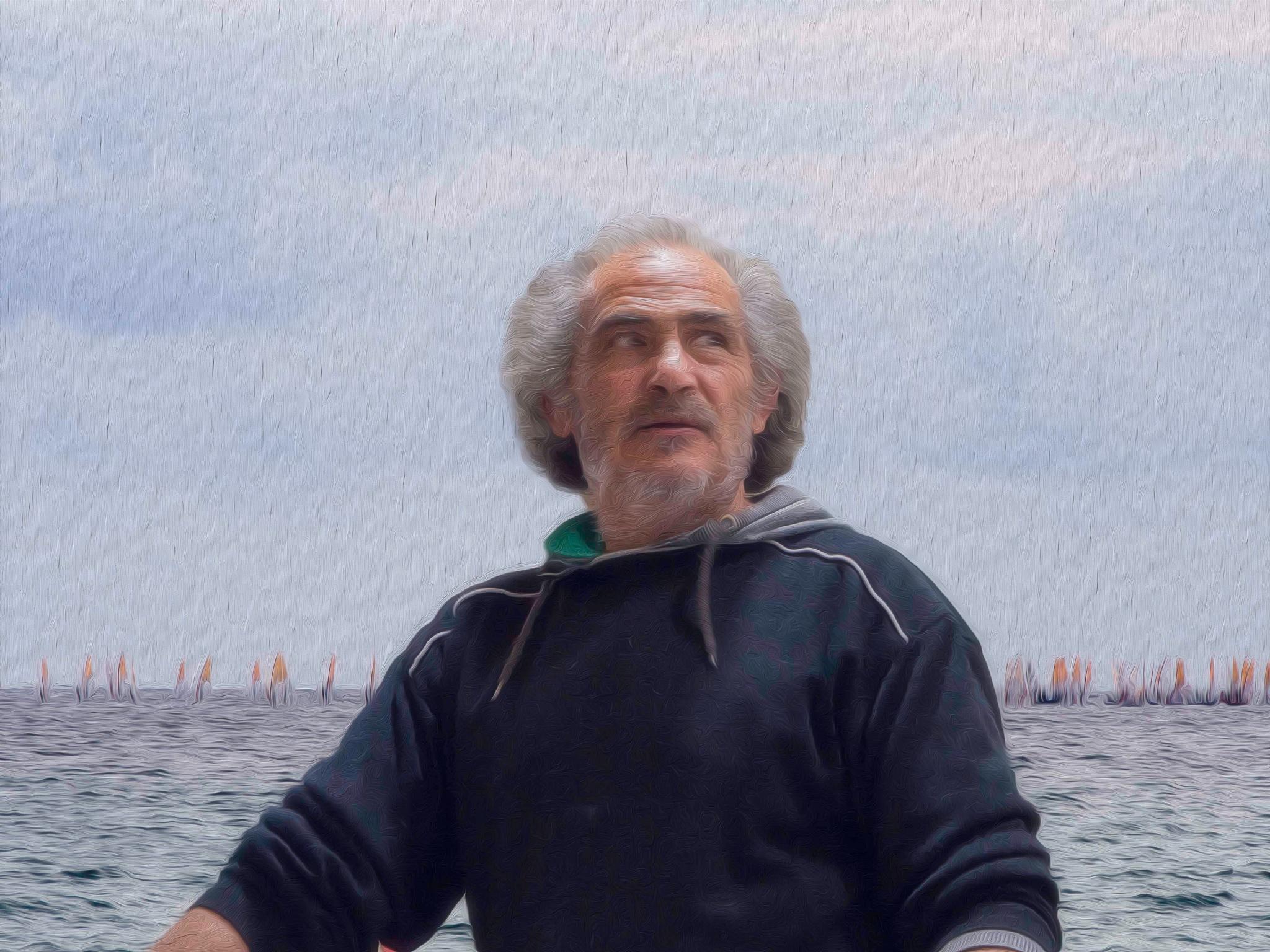 oil Portrait by Michele Pinna Marras