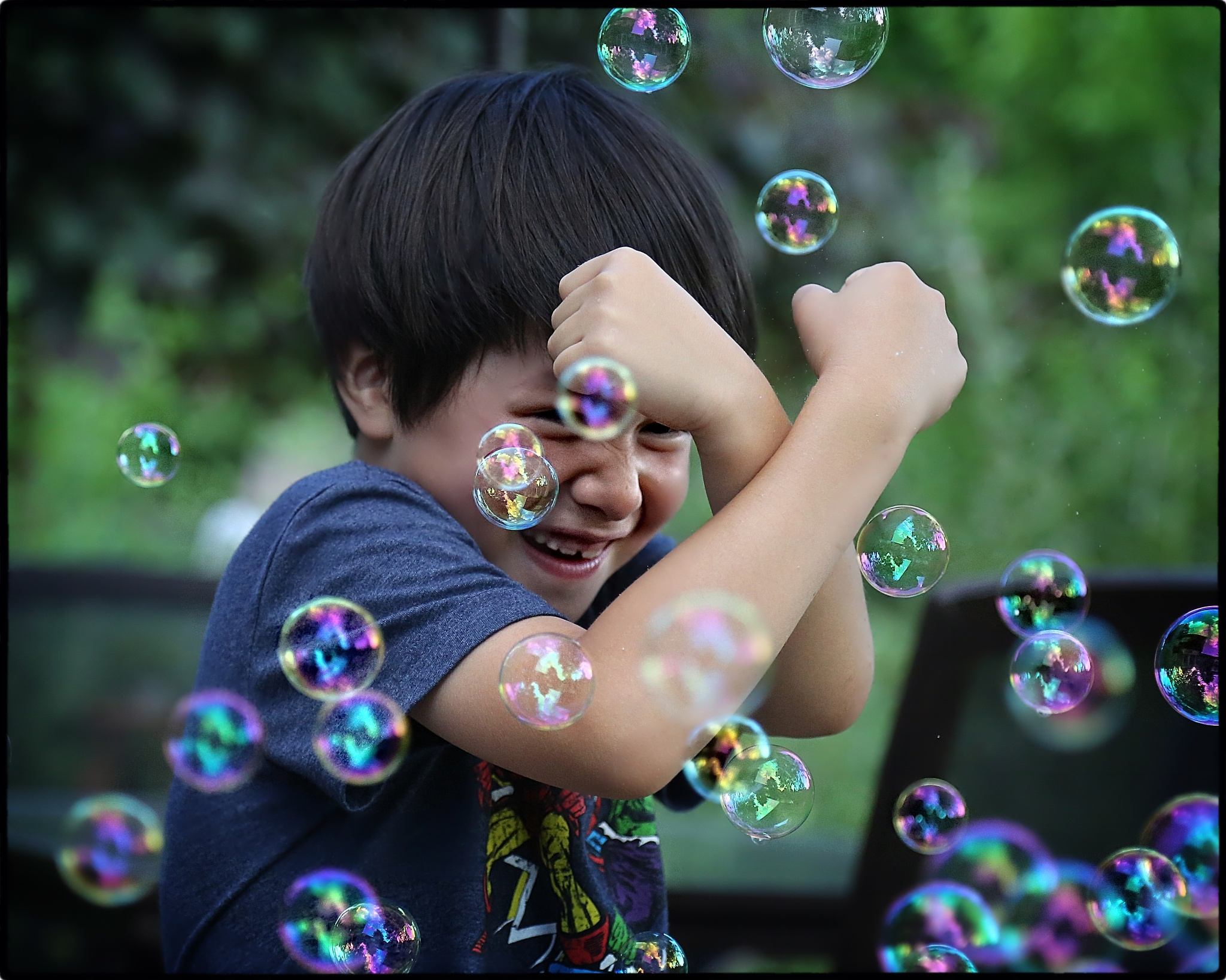 Bubble Boy I by stanlupo