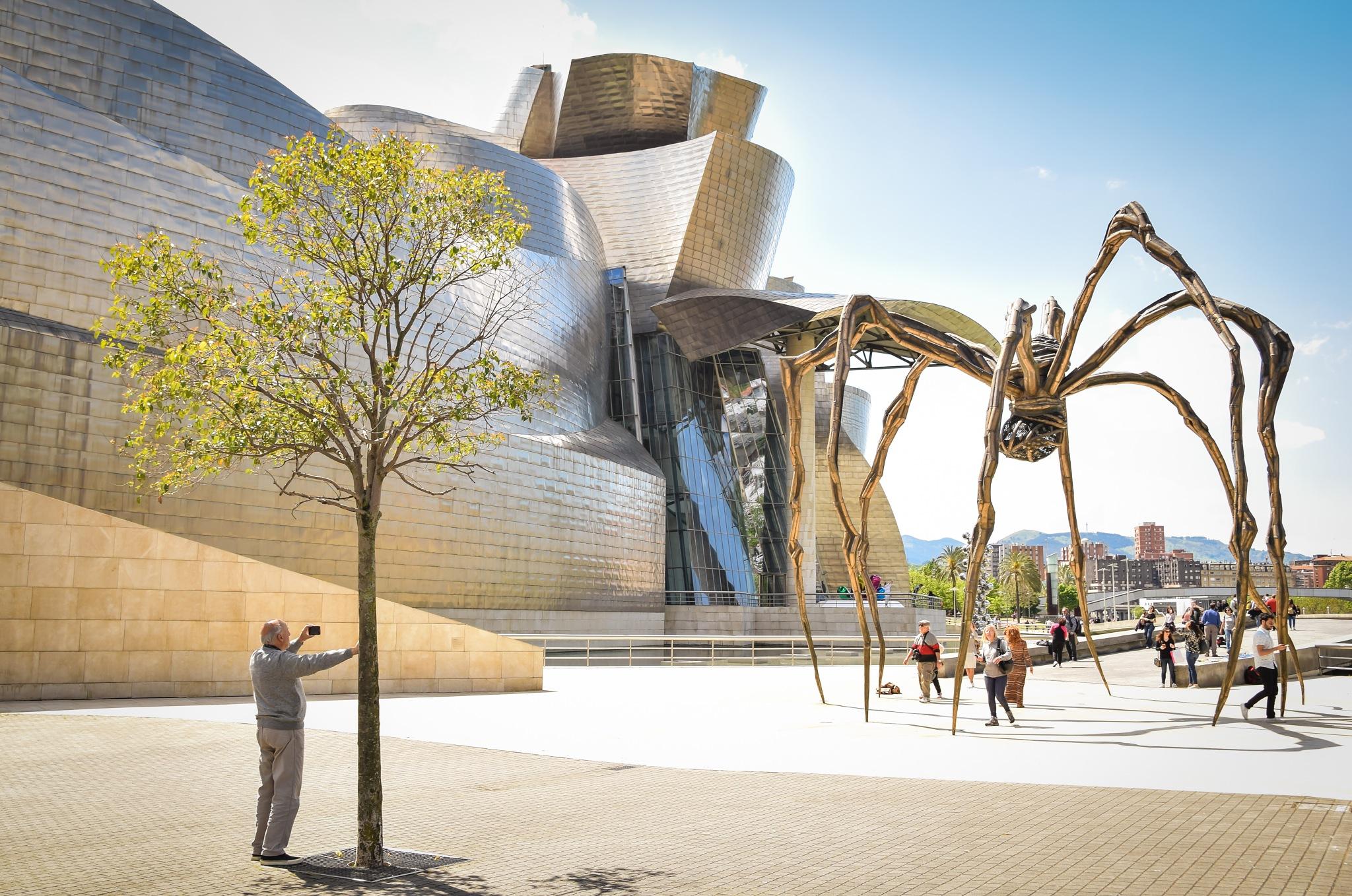 Guggenheim museum, Bilbao,Spain by Marius Rusu