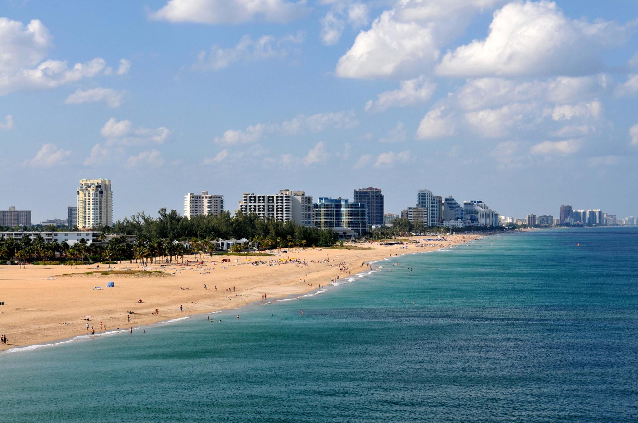 Photo in Travel #miami #beach #landscape #travel #ocean #blue #nikon #zoom #17-55mm