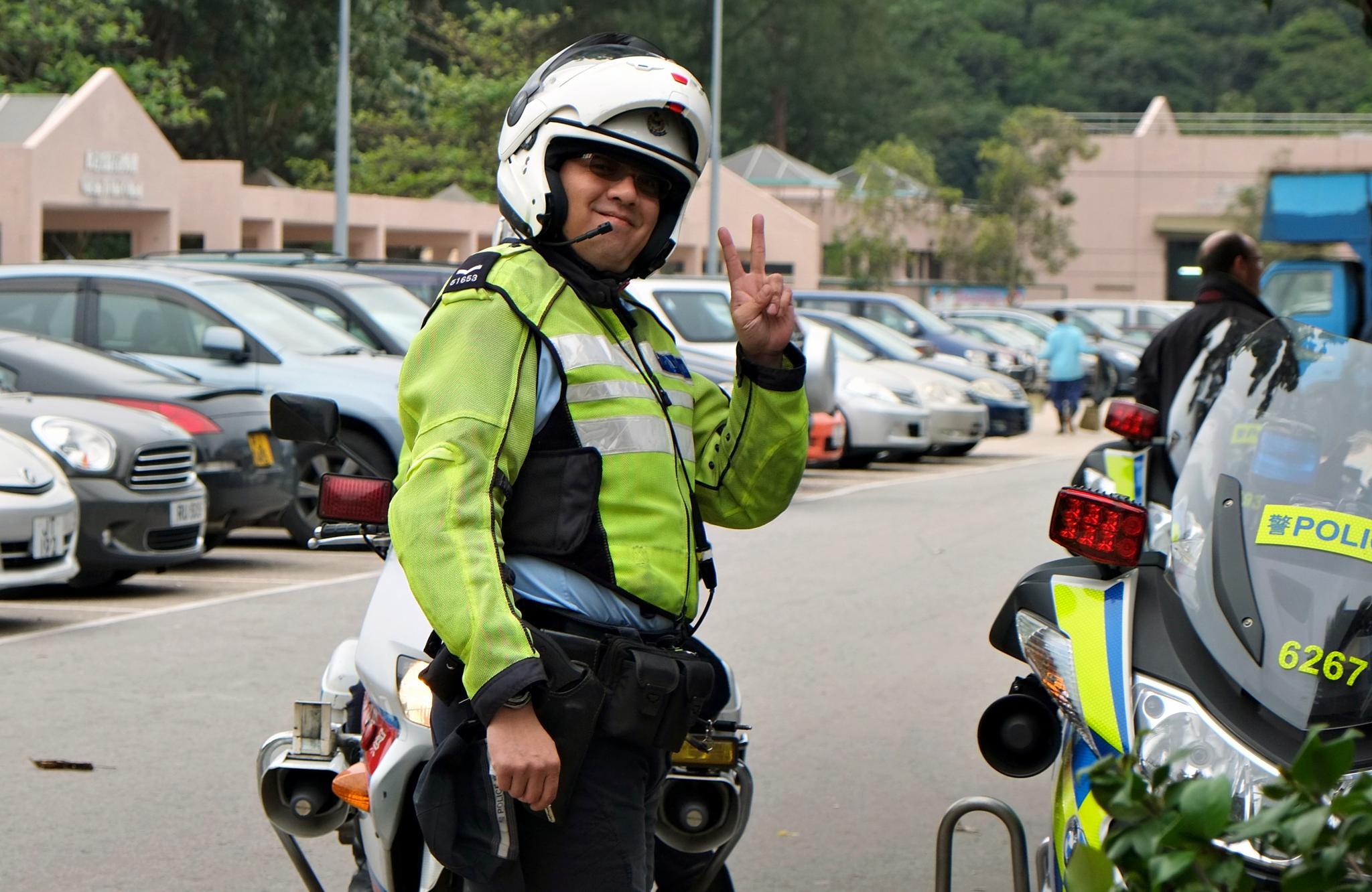Hong Kong Highway Patrol by DL