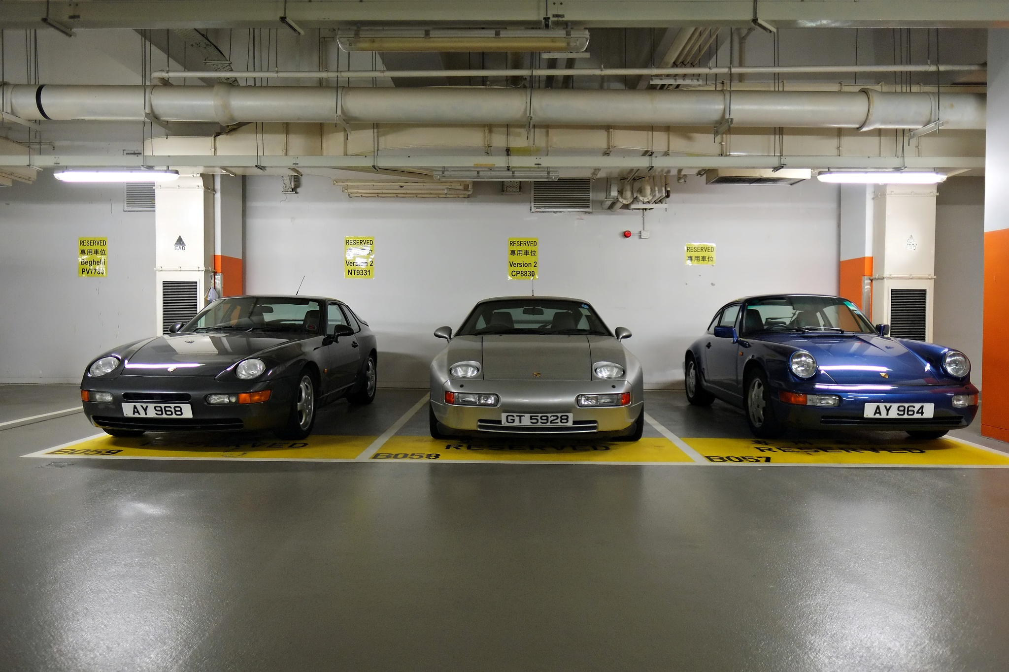 Porsche by David Lam