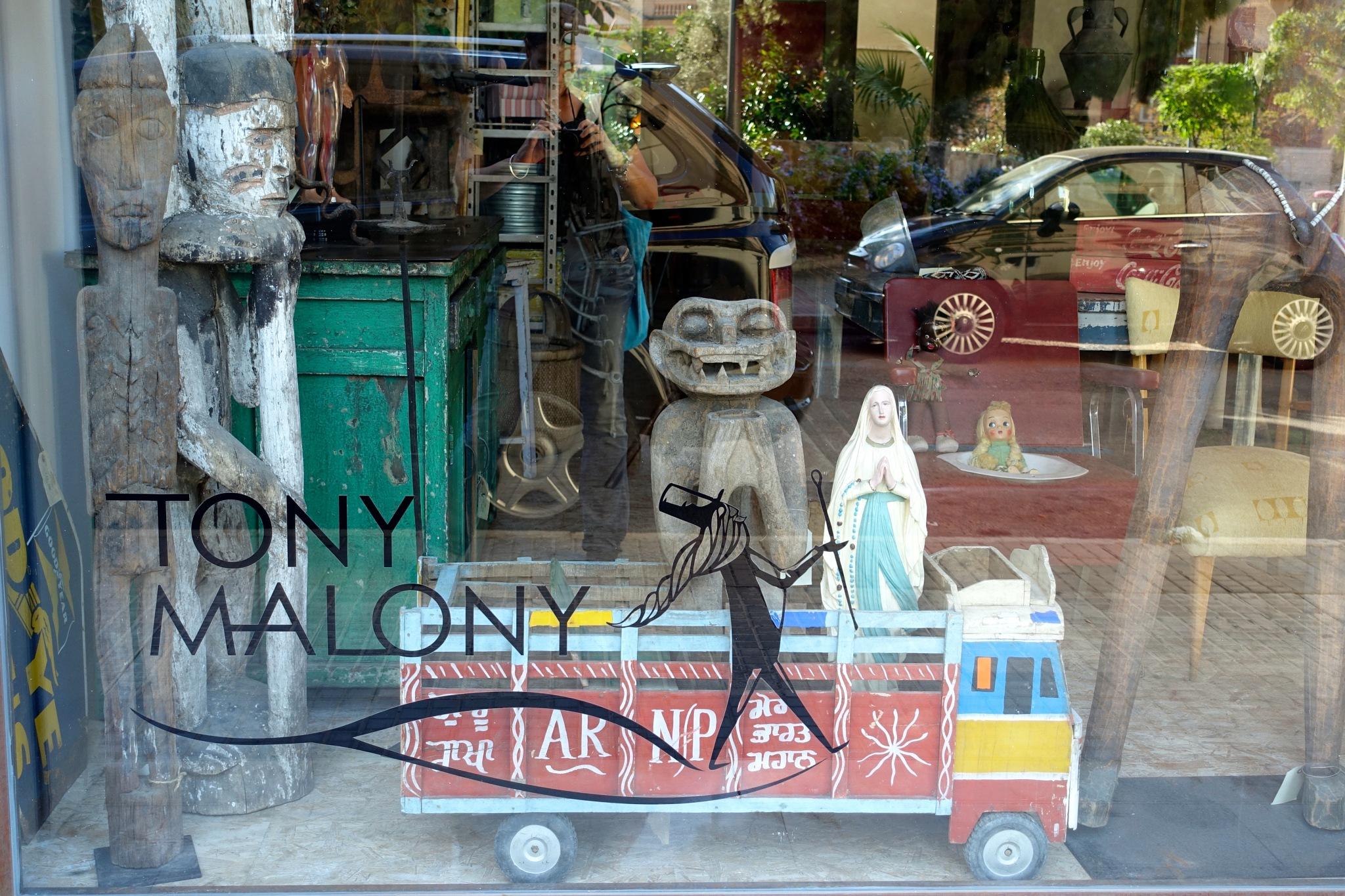 shop window in Santa Catalina, Palma by m.etemadieh