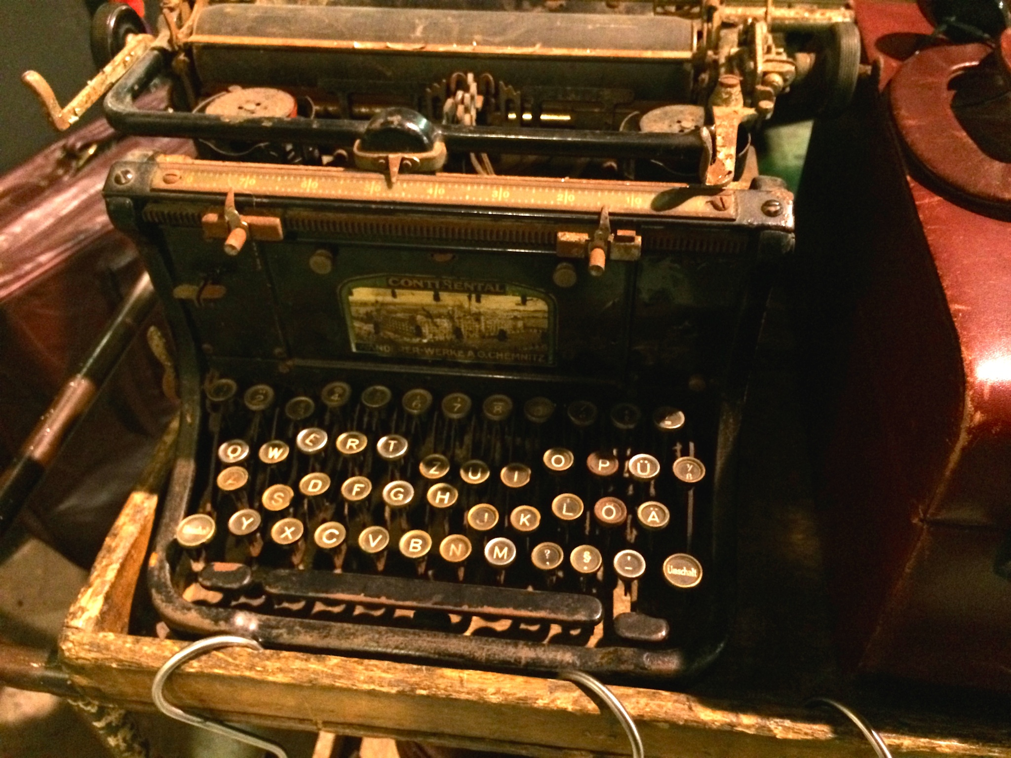 continental typewriter  by m.etemadieh