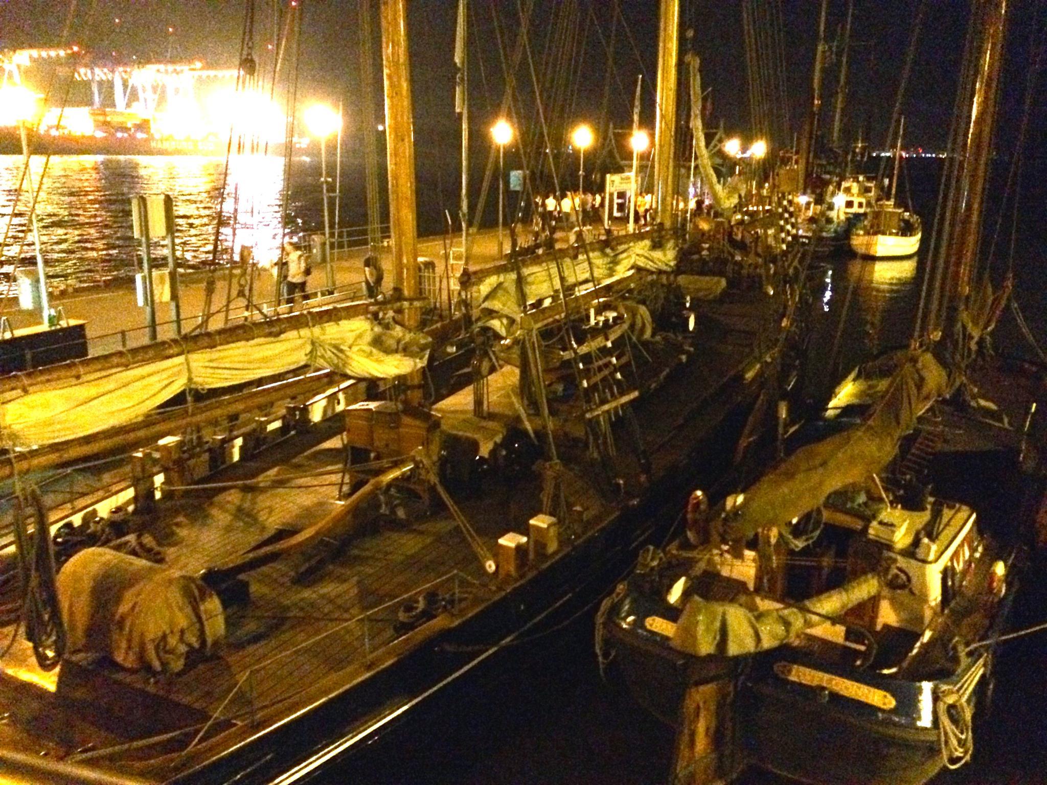 Photo in Vehicle #sailing boat #museum harbor #old #vintage #retro #wooden sailing boat #elbe #hamburg #neumühlen #övelgönne