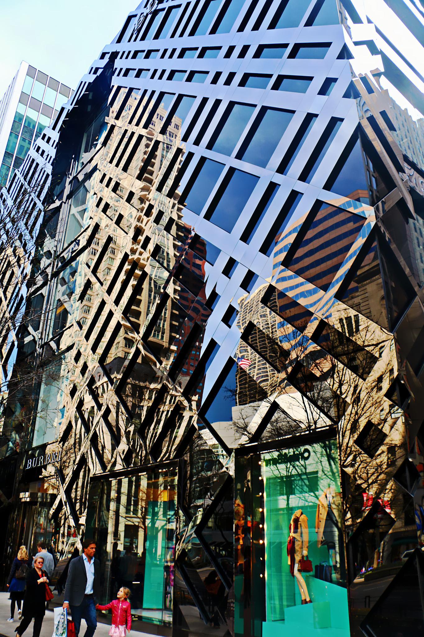 The reflection cross building by Jon Radtke