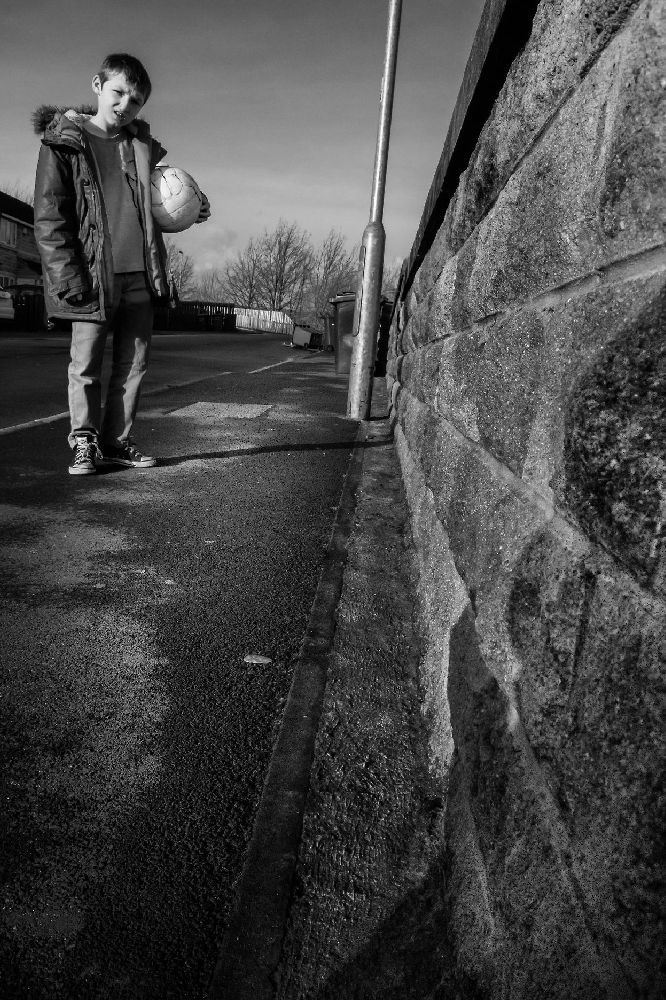 Photo in Street Photography #street photography #england #black and white