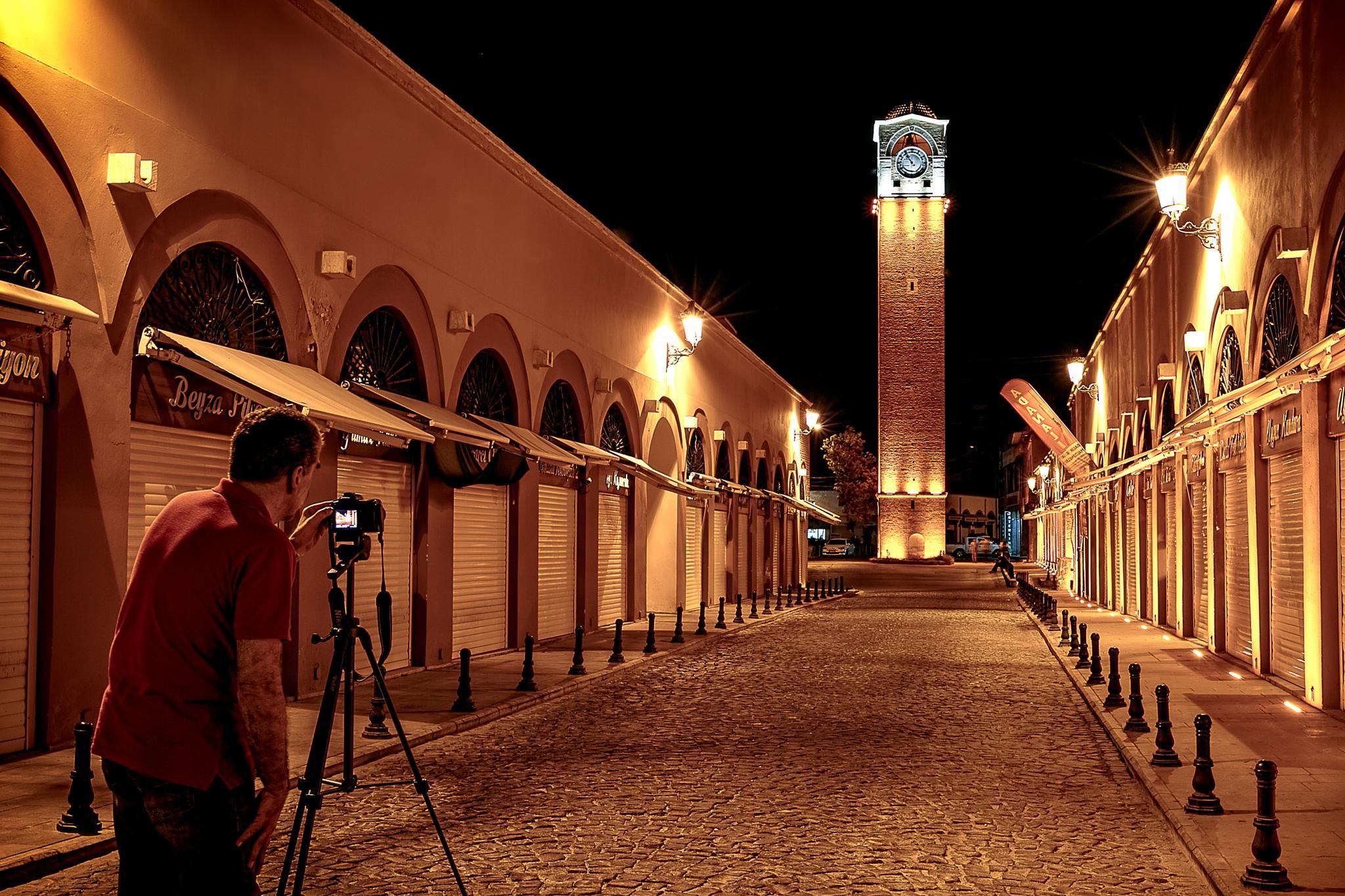 Adana Büyük Saat (The Great Clock Tower) by Bulent Cerci