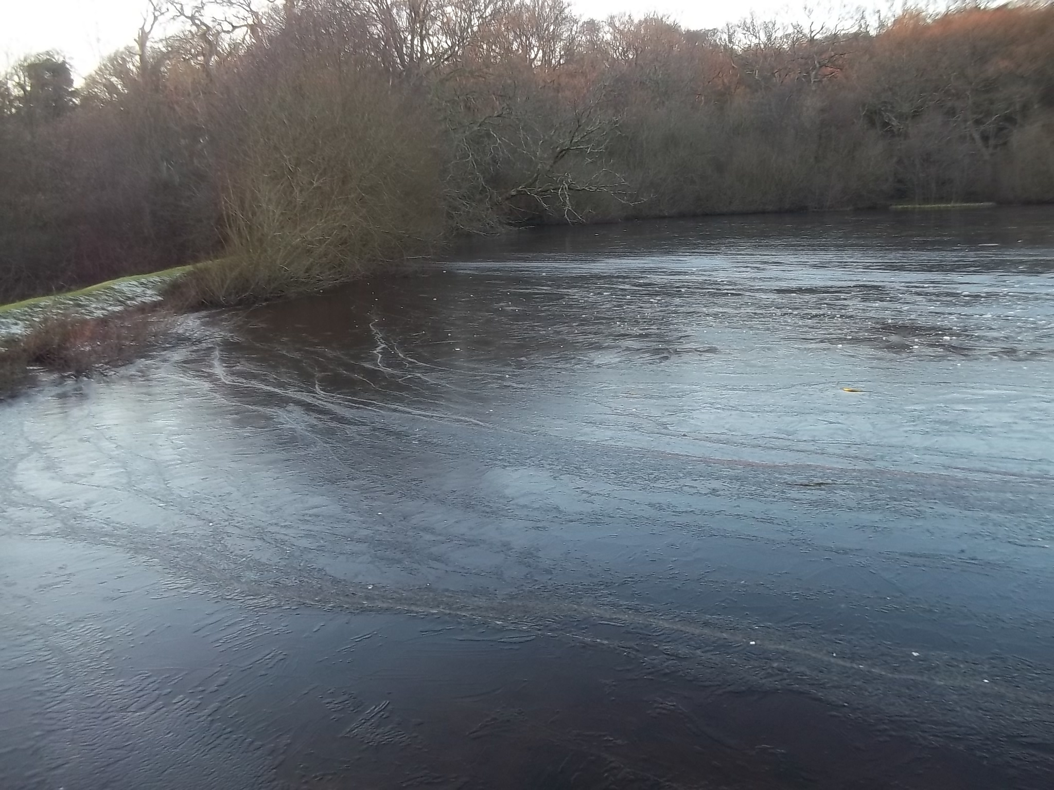eye worth pond frozen by traceybiddlecombe3666