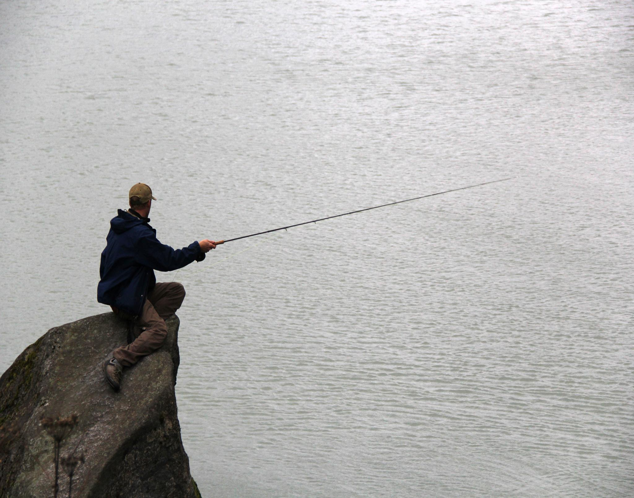 Hope they're biting by Laurence (Sam) Warriner