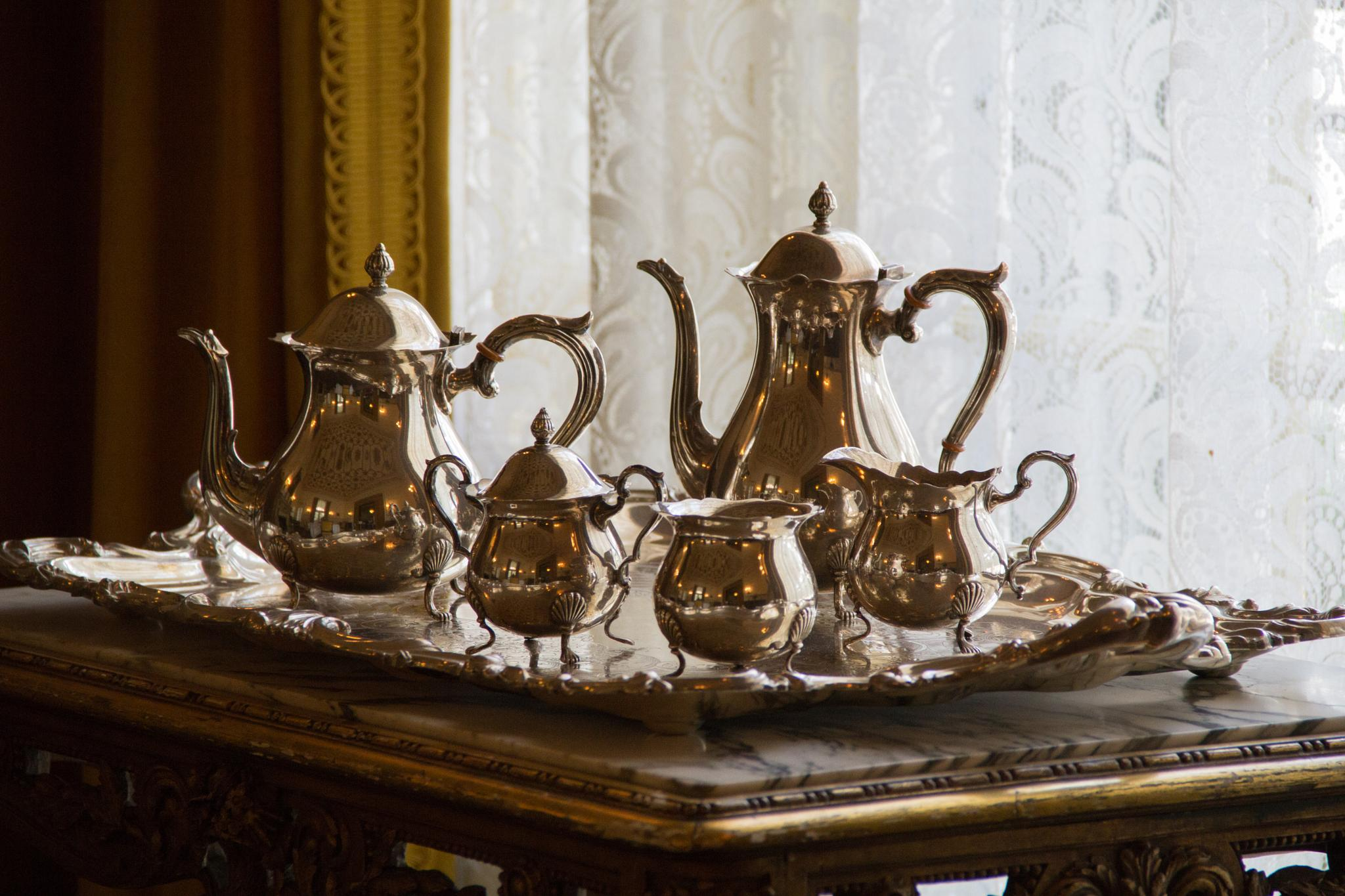 Tea Time by Laurence (Sam) Warriner