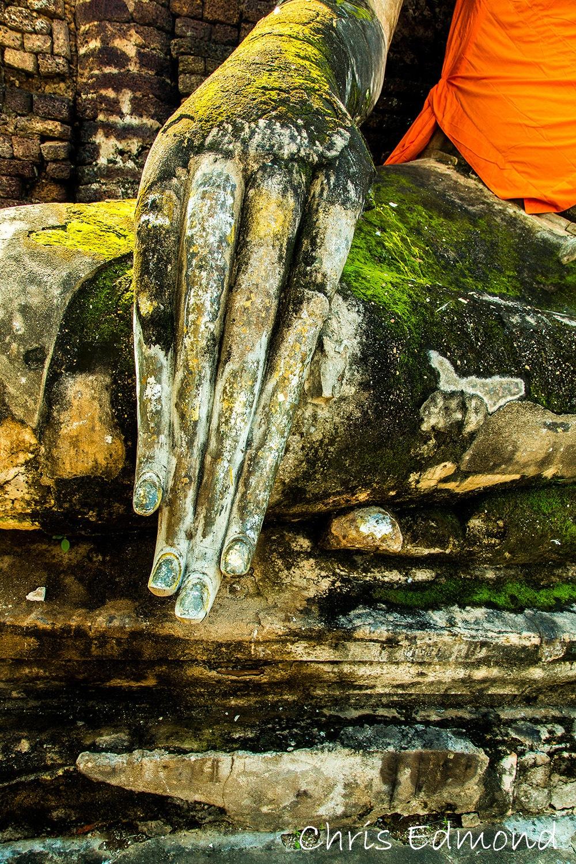 The Hand of Buddha by chrisedmondphotography