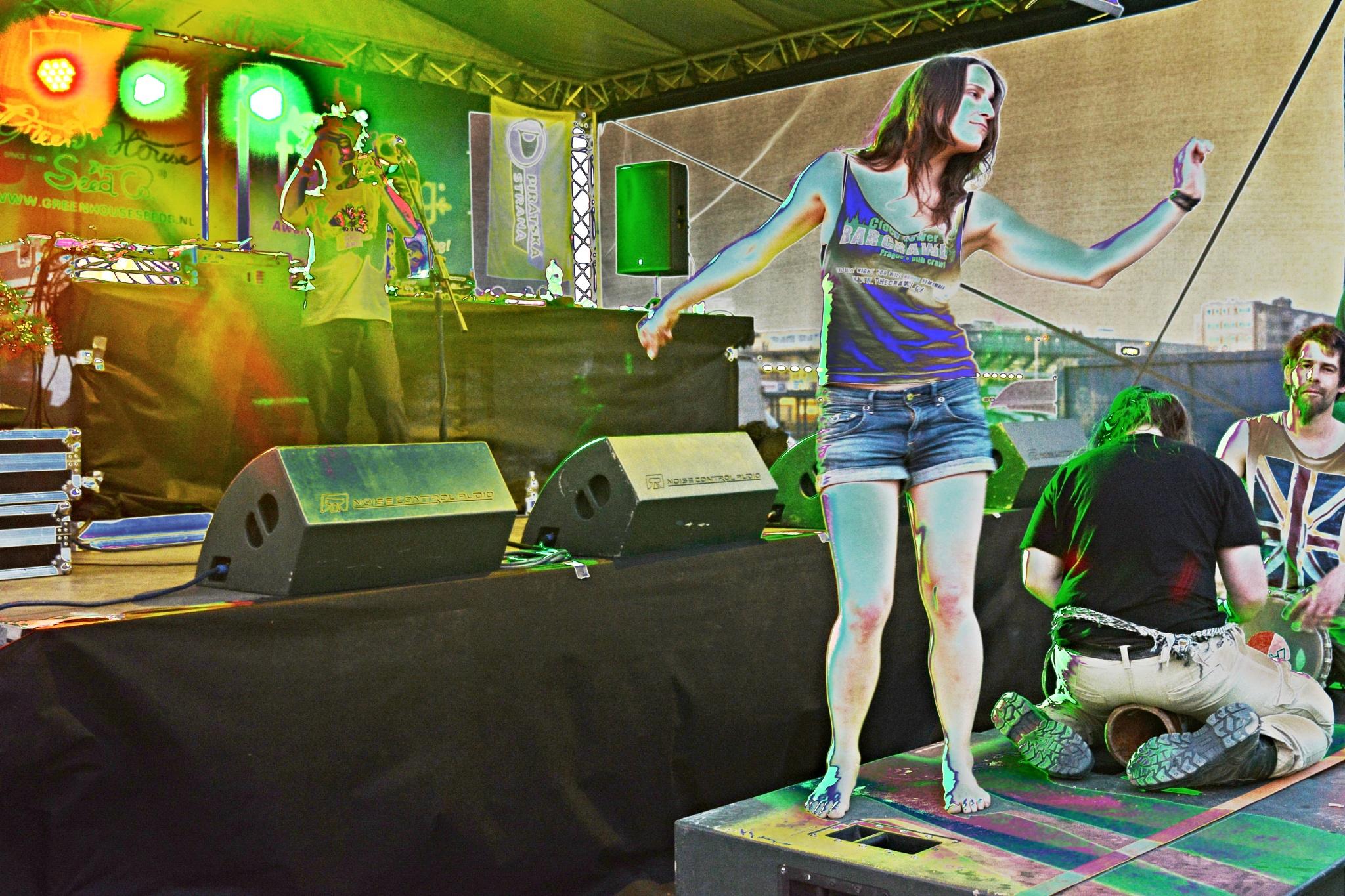 Cannabis Concert in Prague II. by marcel cintalan