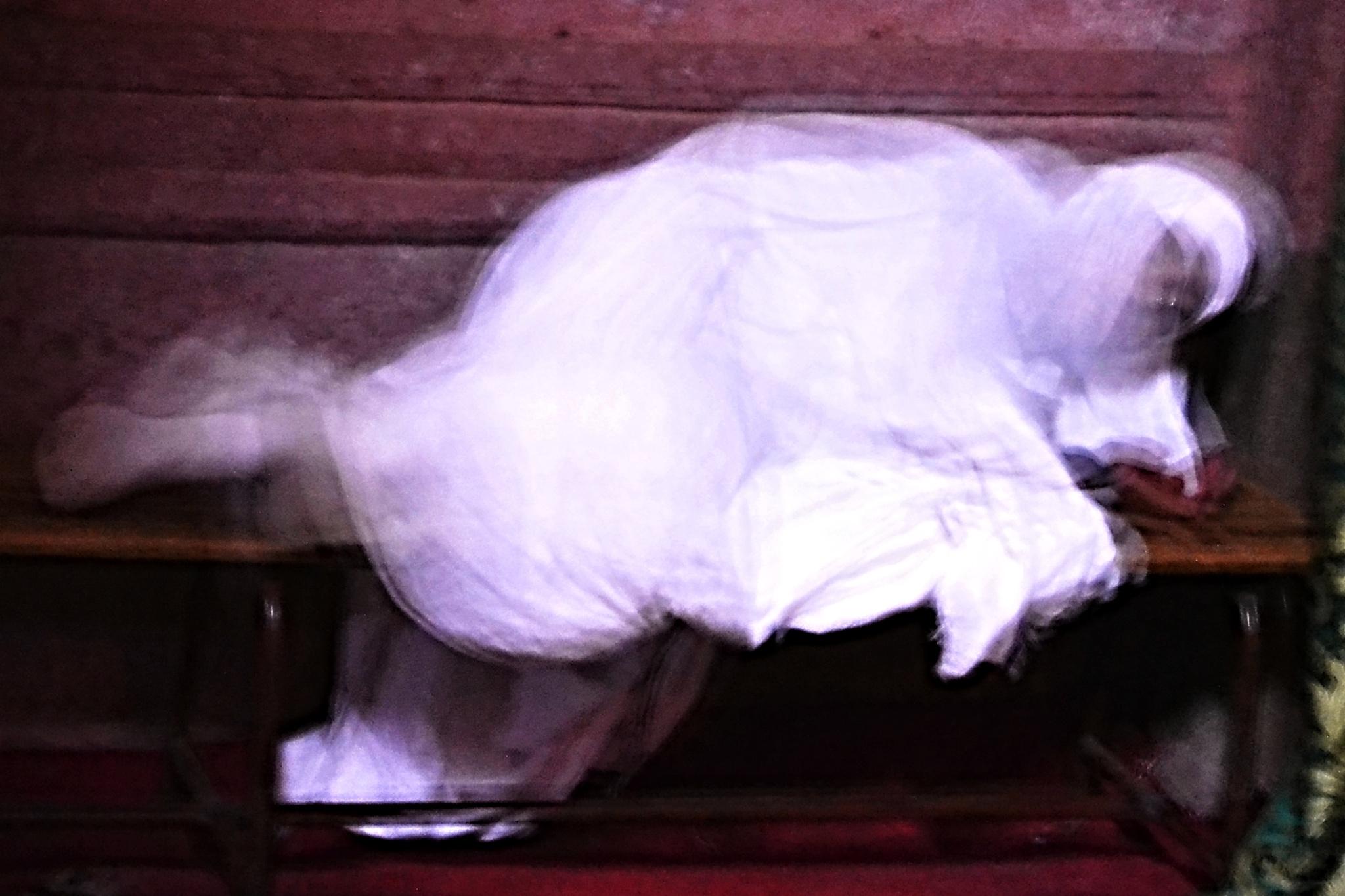 A Sleeping Ghost. by marcel cintalan