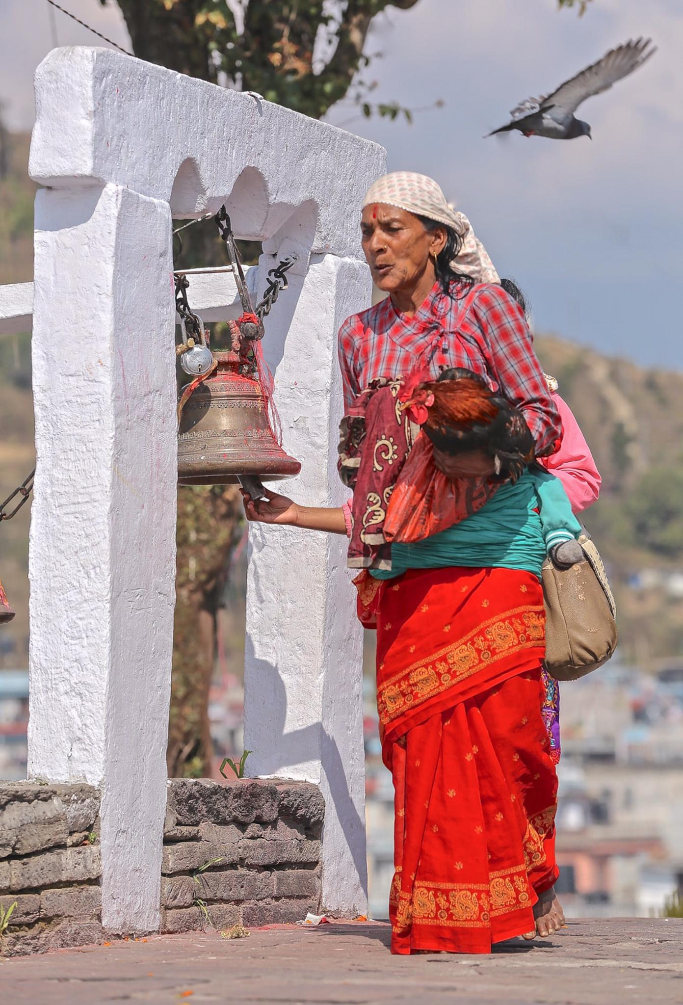Nepali Worshipper by Totofore