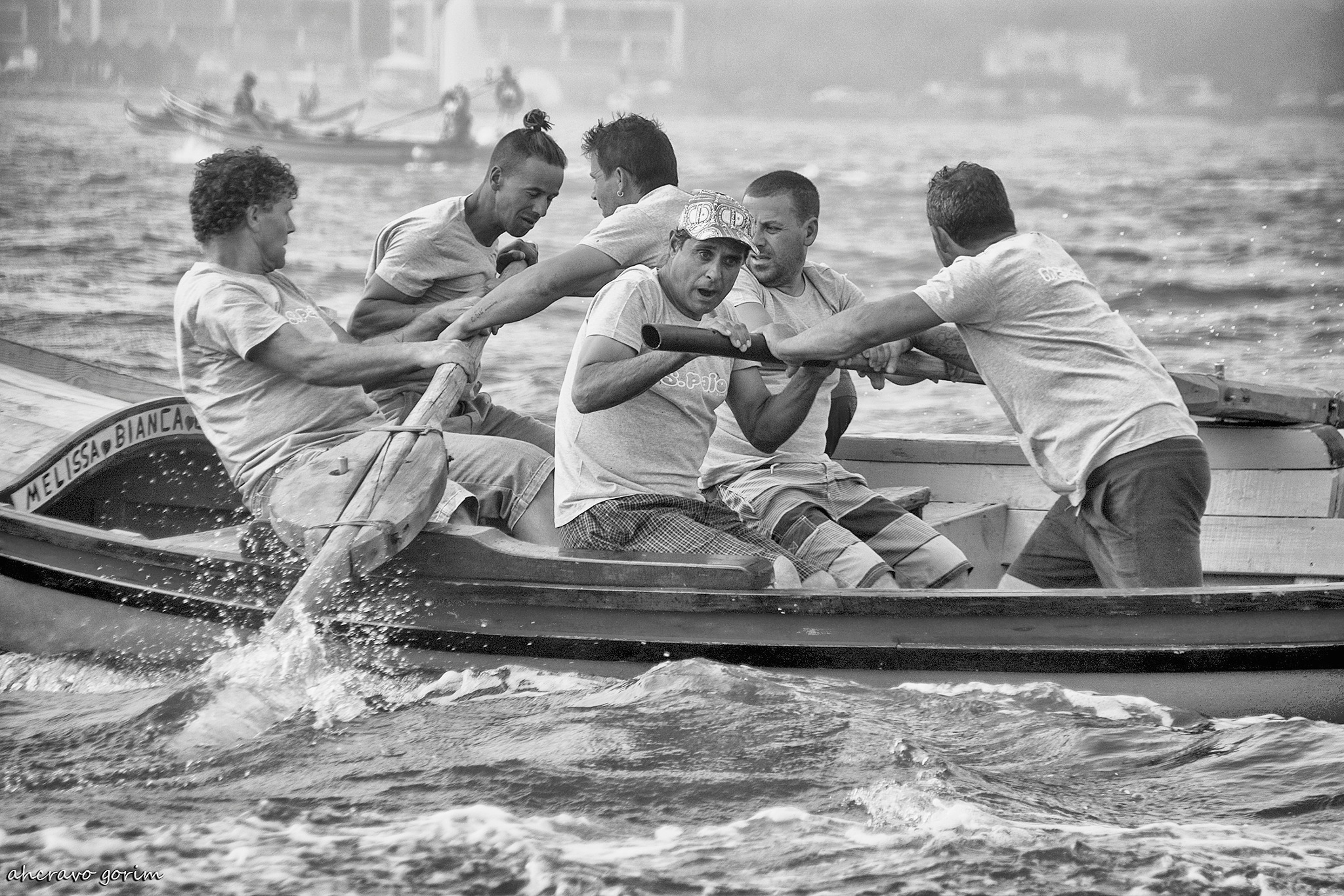 """chinchorros"" rowing race (2016) by ahcravo gorim"