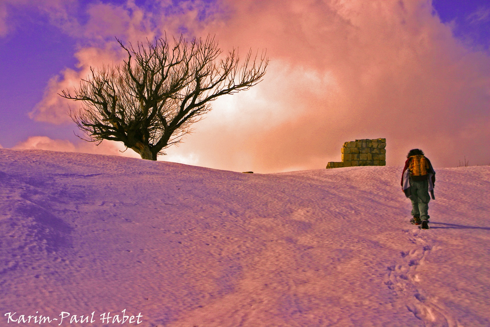 .....to the edge.... by Karim-Paul Habet