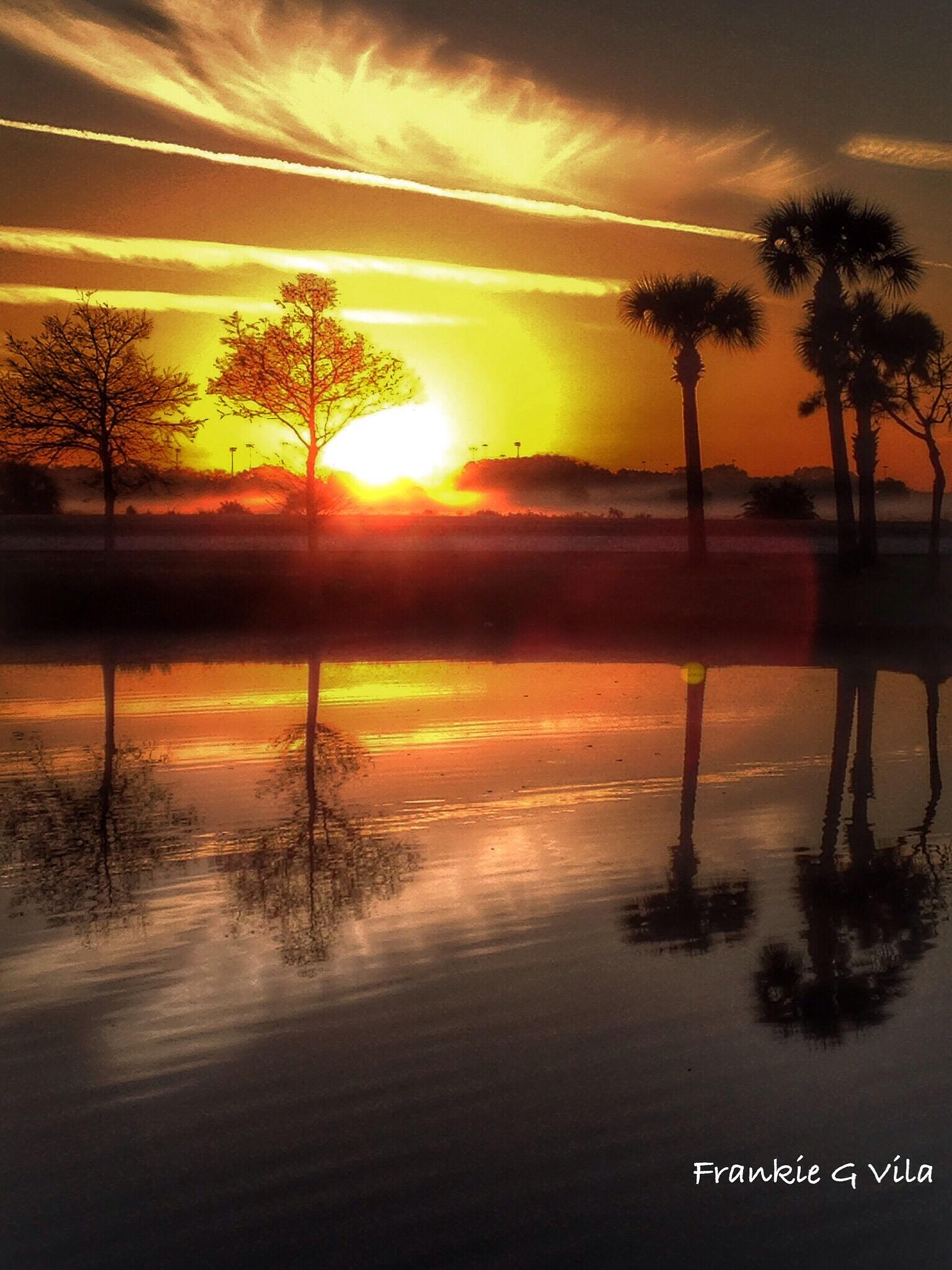 Sunrise in Florida  by frankievila