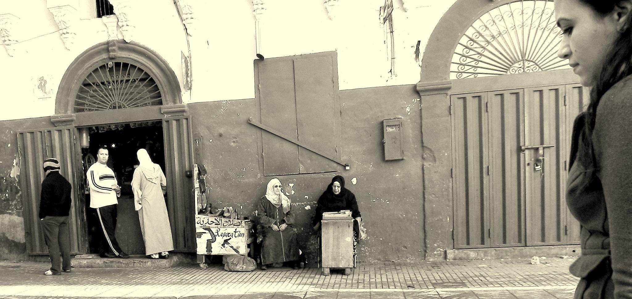 Calle de Casablanca by LAMAC