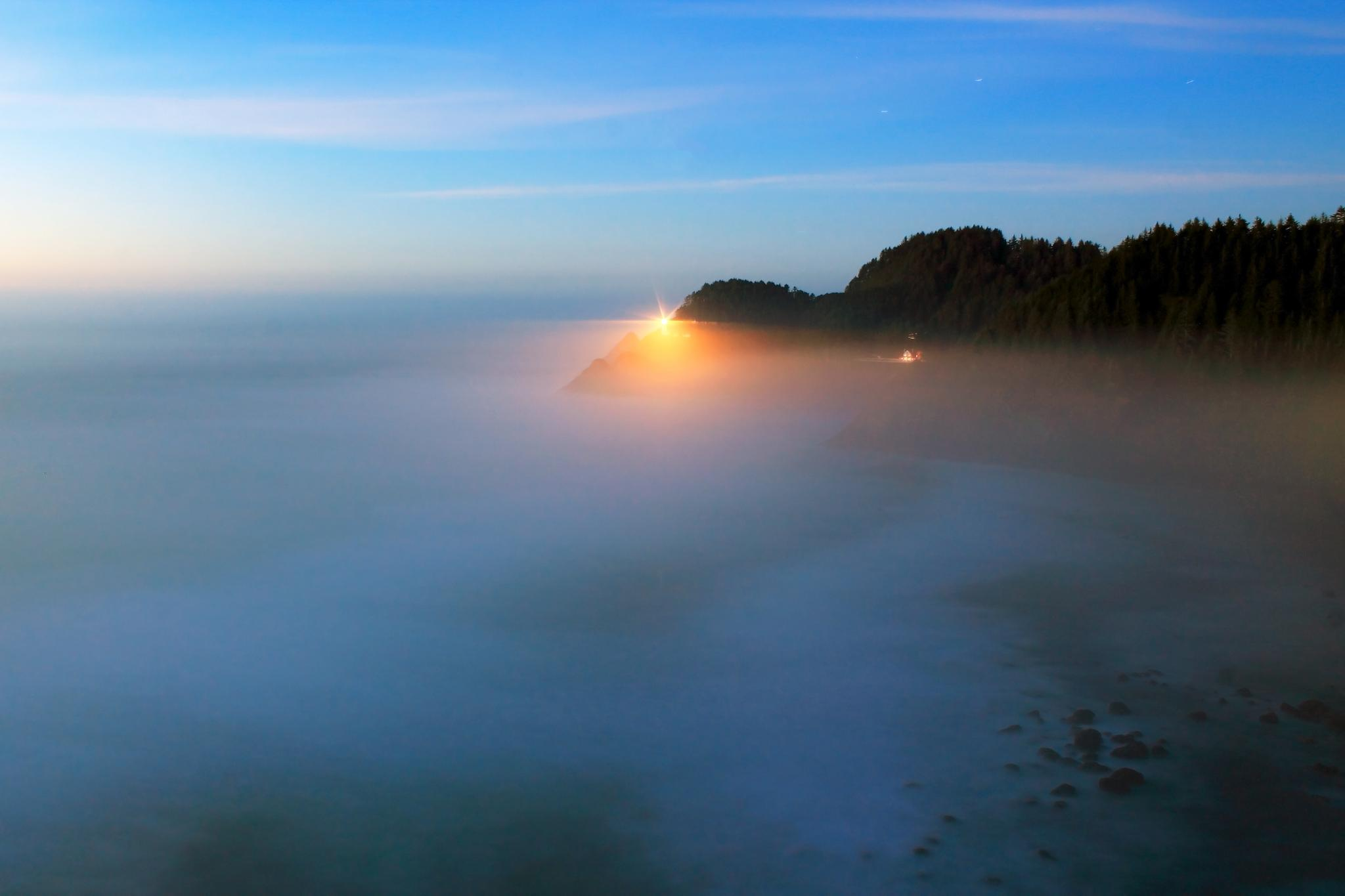 Heceta Head Light House by srimmey