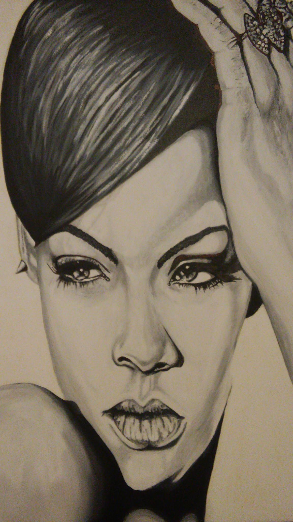 Rihanna  by Simon Maxx