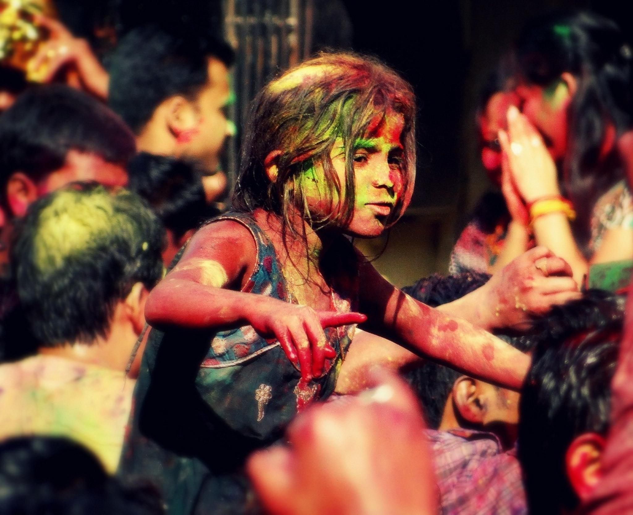 Festival of Colours (Holi-2015) by Manabendra Bhattacharjee