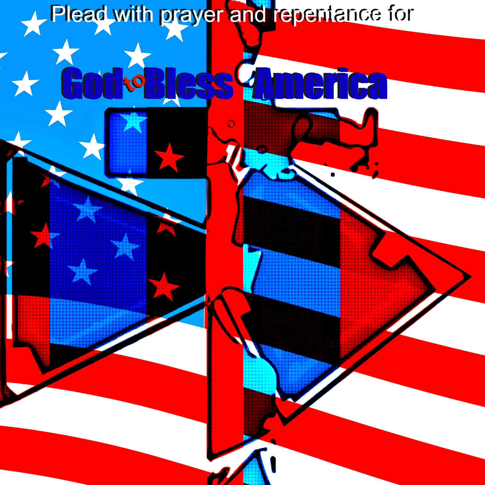 Plead With Prayer & Repentance For God To Bless America by Lione'sLens
