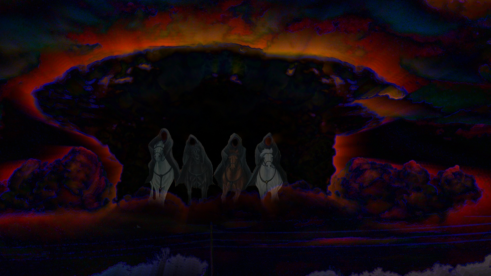 Breath Deep The Gathering Gloom . . . The Four Horsemen Of The Apocalypse by Lione'sLens