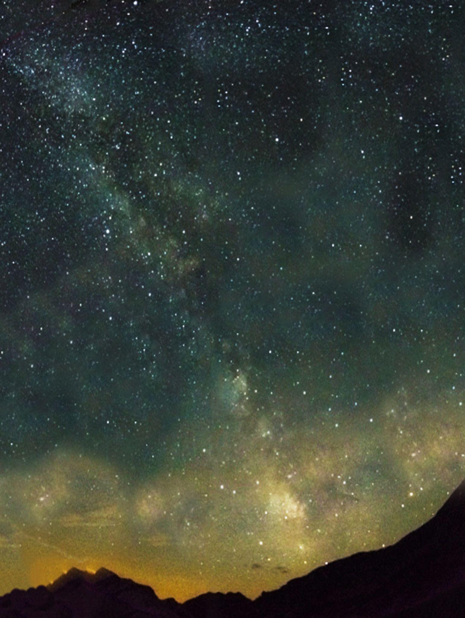 Milky way in Retezat mountain by Szanto Alexandru