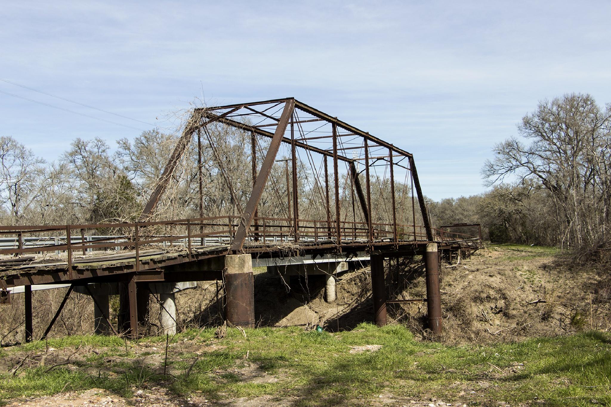 Old Metal Bridge by Wade Pitcher