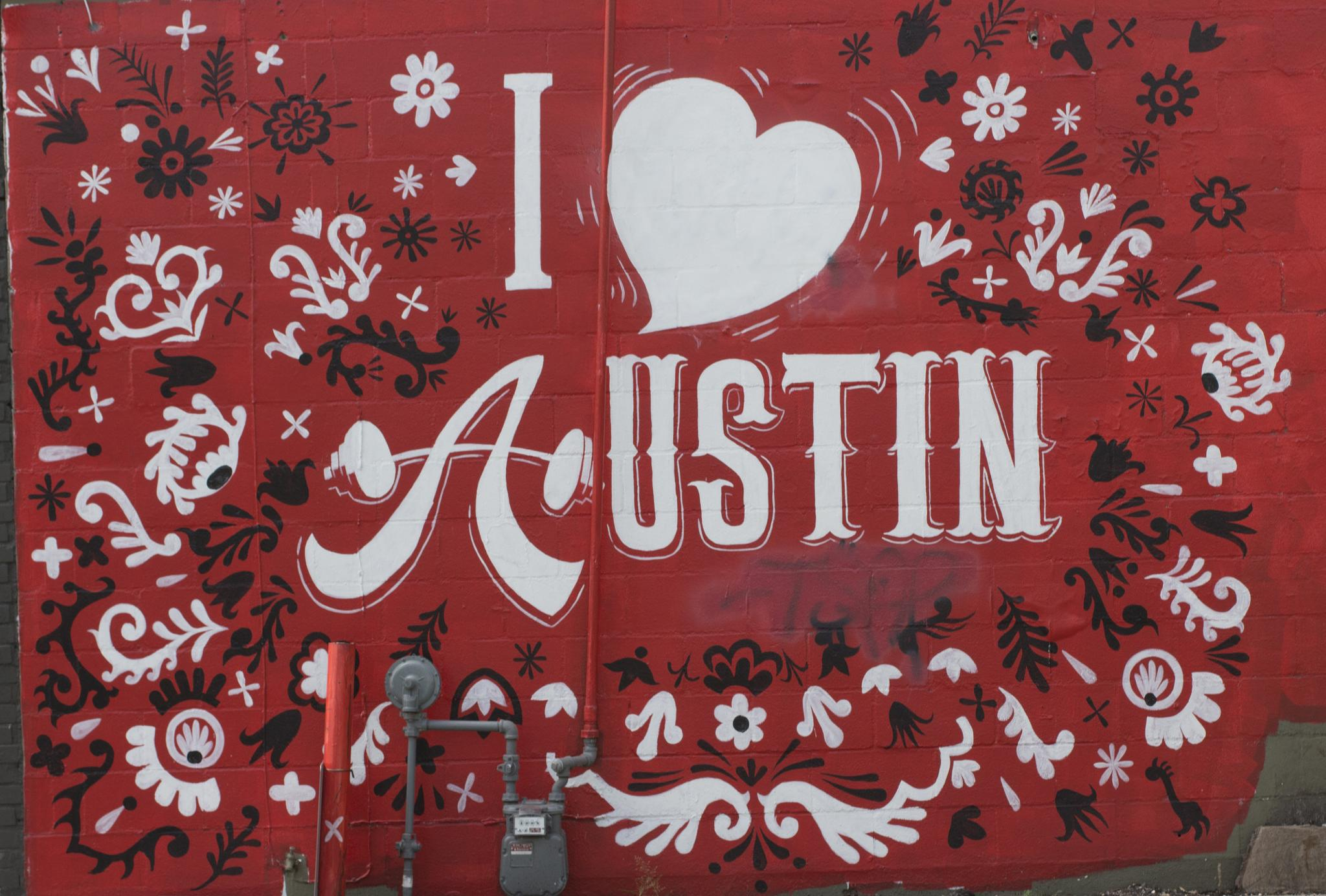 I Love Austin by Wade Pitcher