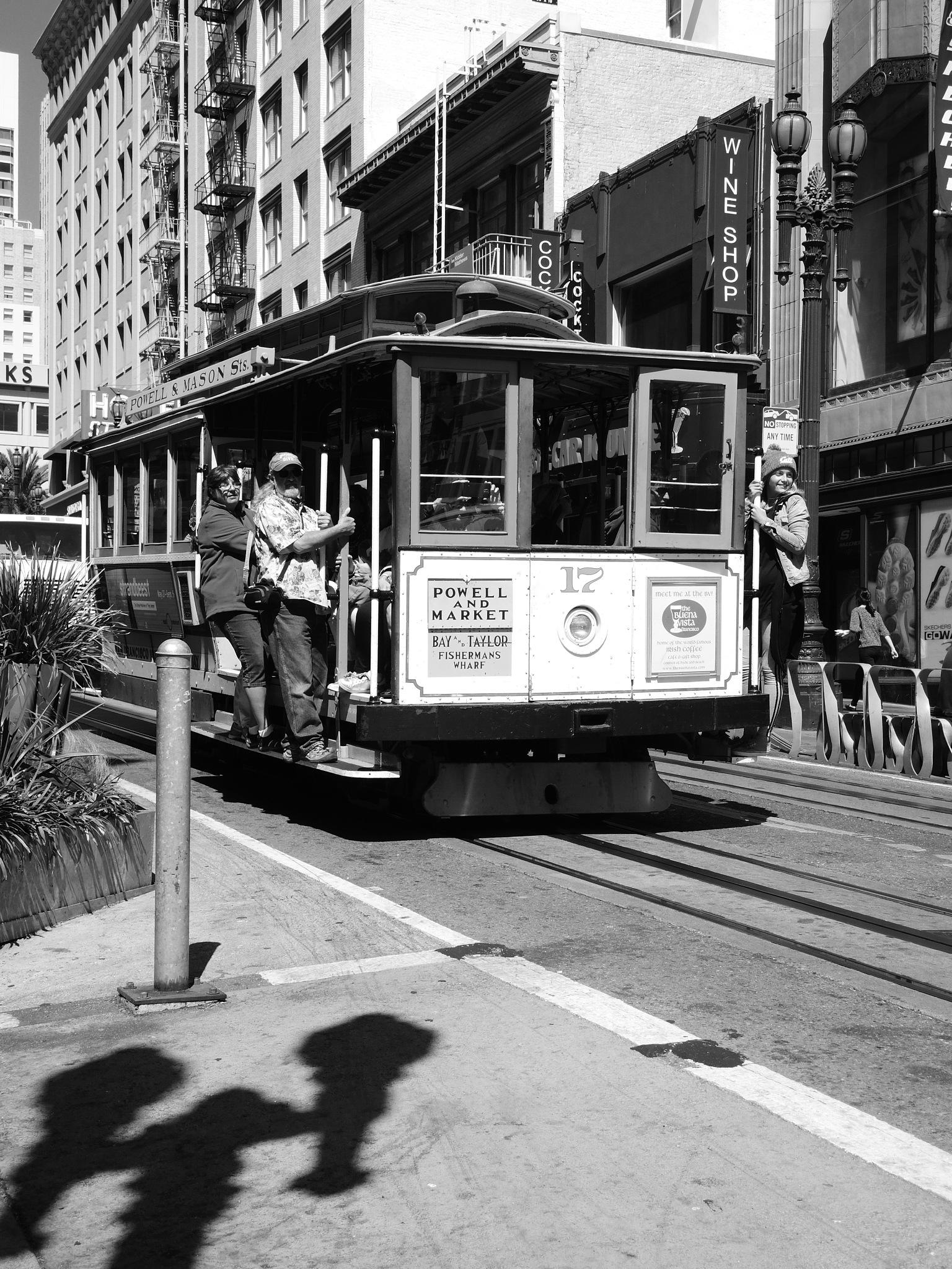 San Francisco Tram by Ola Edestav