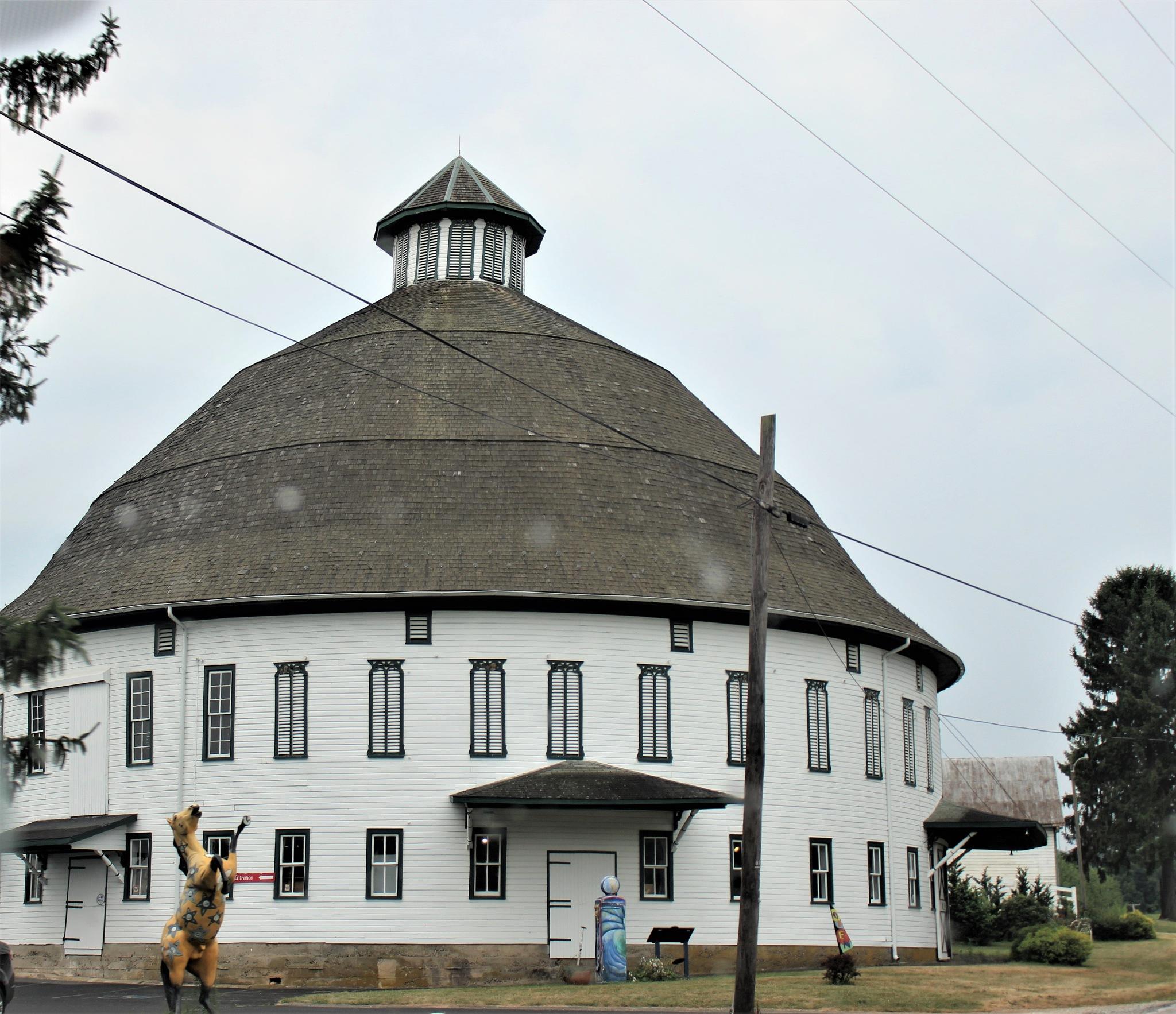 The Round Barn by RichandCheryl