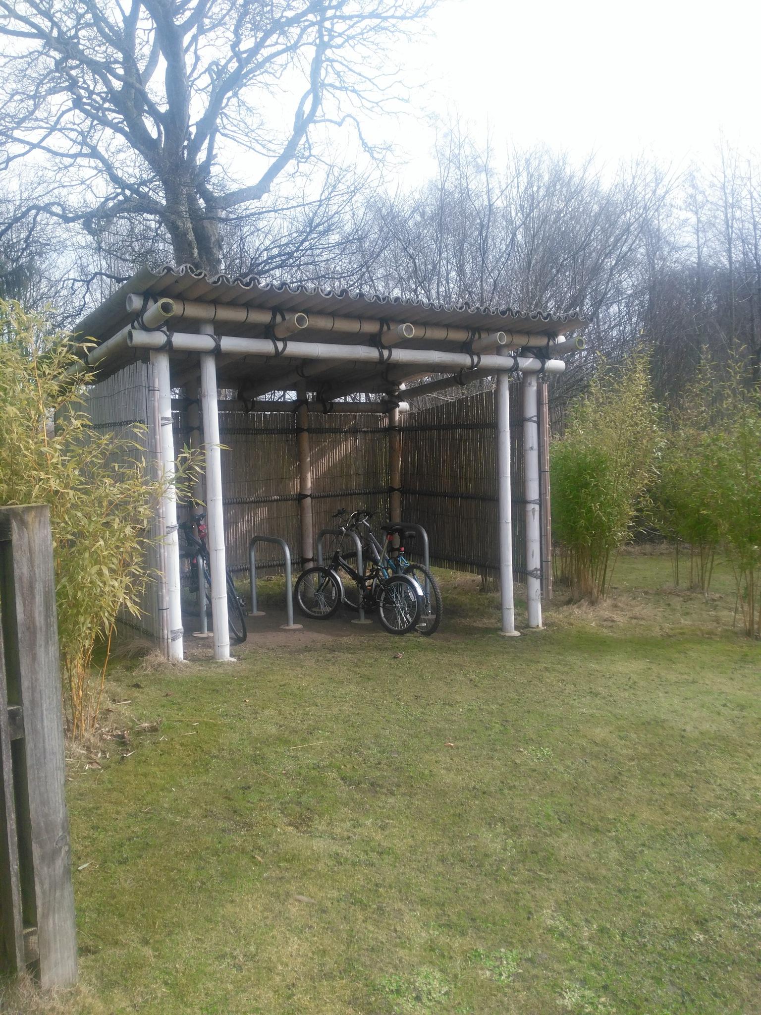 Bamboo Bike Rack by afrior