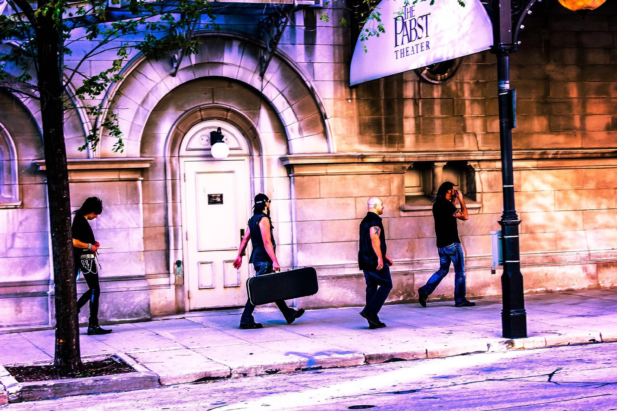 Band Promo Shoot - Grooooovy by Cheri Kern Photography
