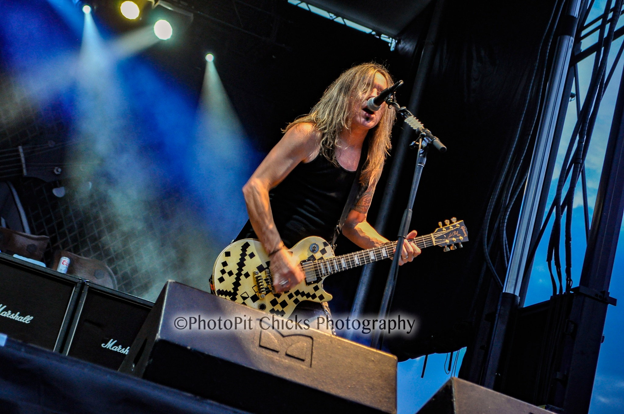 Slaughter - Farm Rock Chicago - 9/5/15 by Cheri Kern Photography