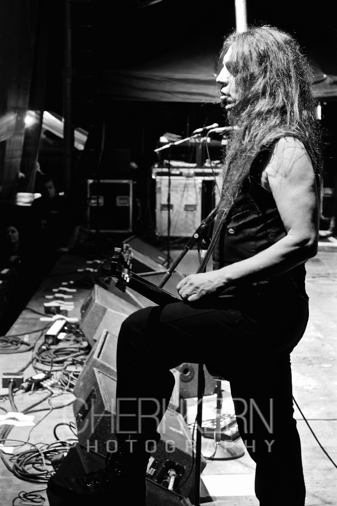 On Stage with SKID ROW by Cheri Kern Photography
